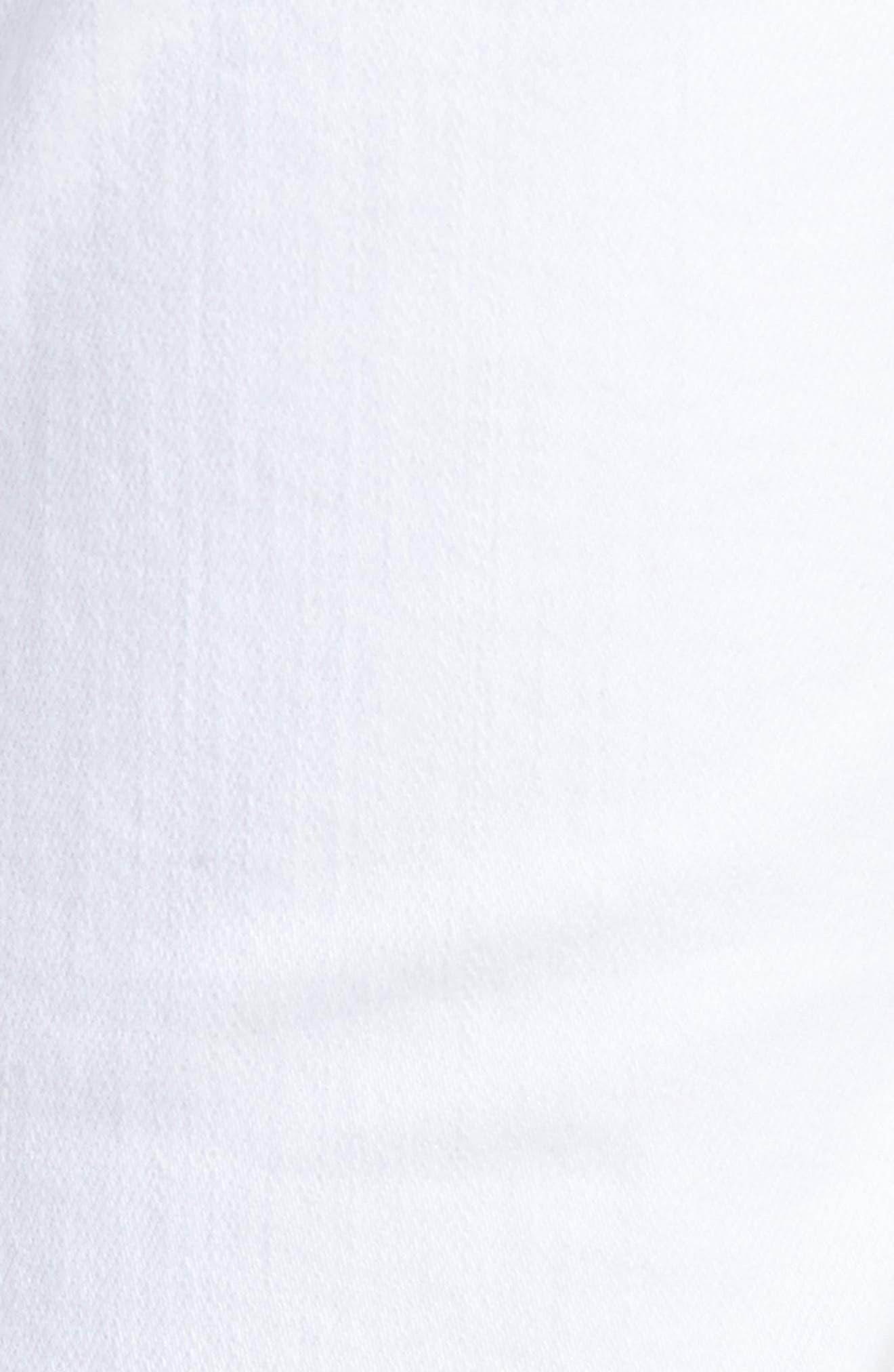 Brigitte Ripped Crop Boyfriend Jeans,                             Alternate thumbnail 6, color,                             100
