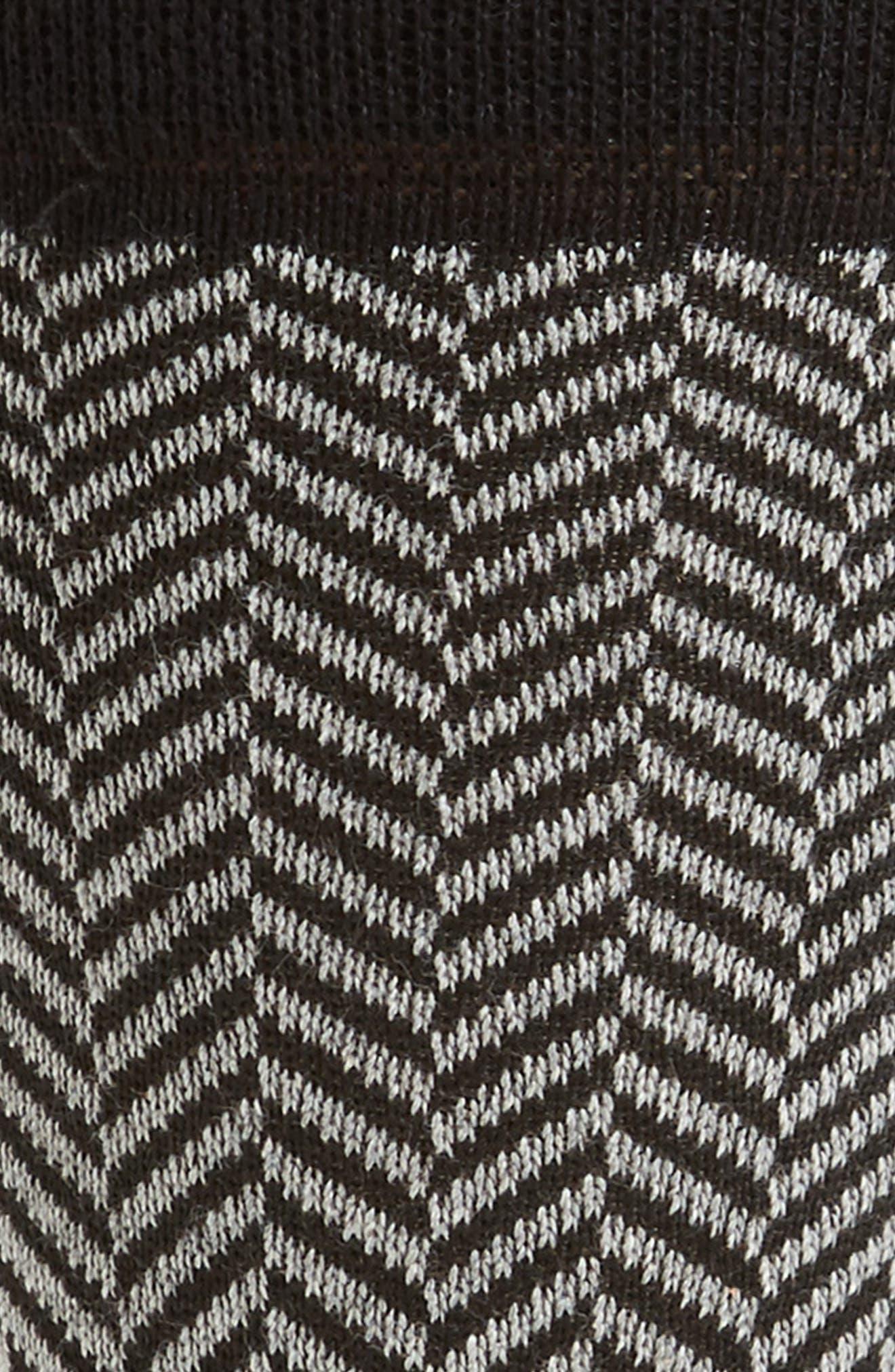 Ronimow Herringbone Socks,                             Alternate thumbnail 2, color,                             001