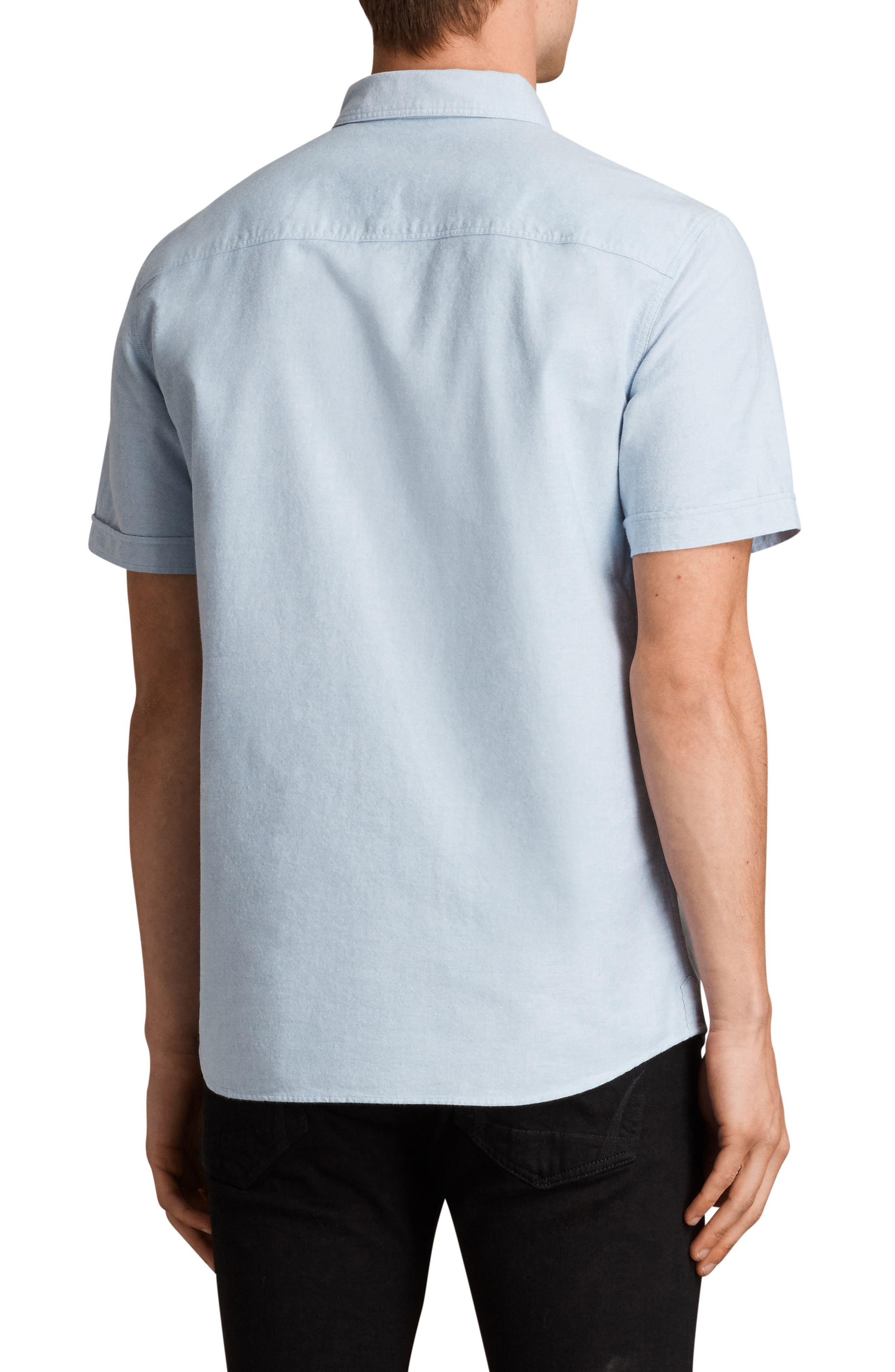 Huntington Regular Fit Short Sleeve Sport Shirt,                             Alternate thumbnail 10, color,