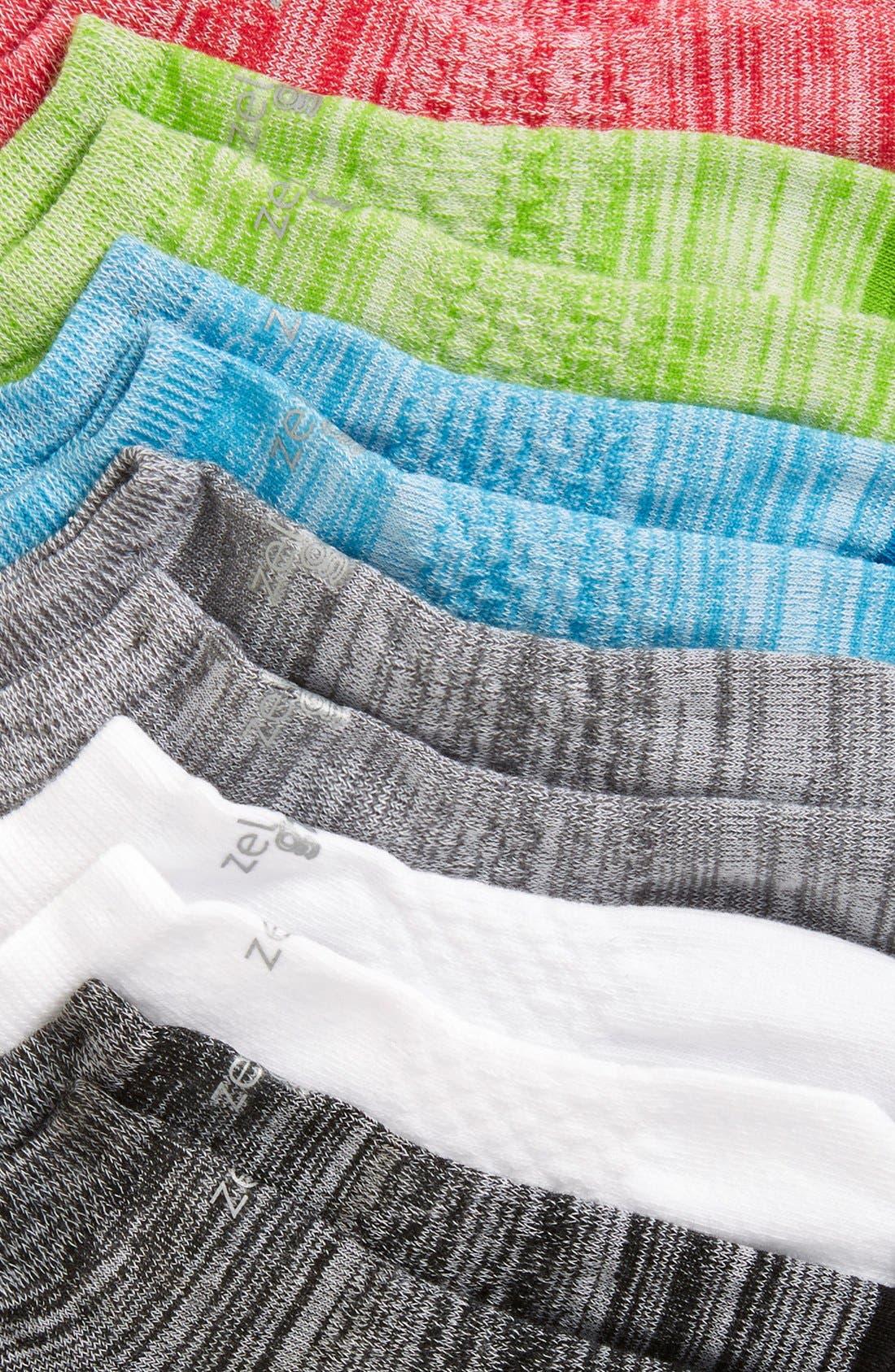 6-Pack Ankle Socks,                             Alternate thumbnail 20, color,