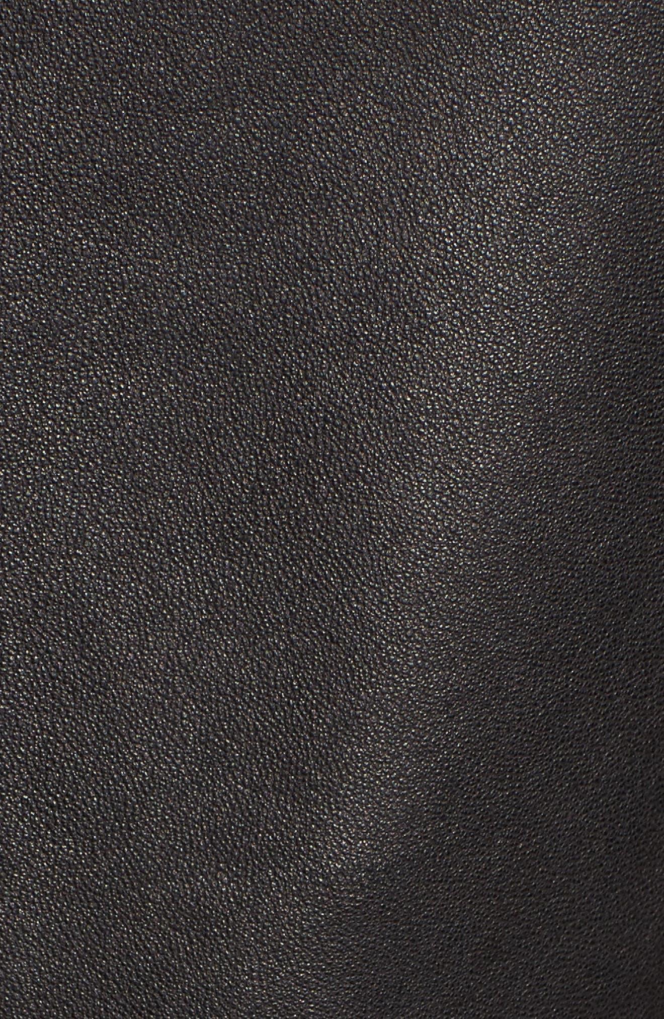 Leather Jacket,                             Alternate thumbnail 11, color,