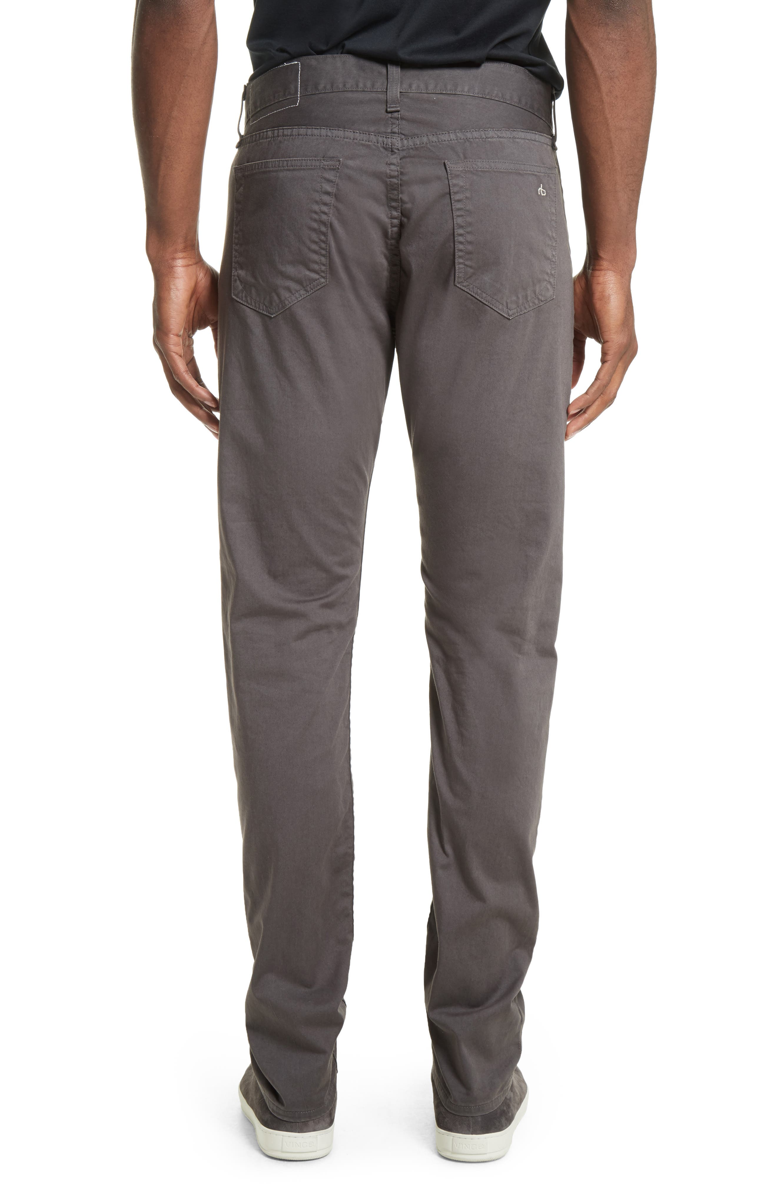 Fit 2 Slim Five-Pocket Pants,                             Alternate thumbnail 2, color,                             GREY