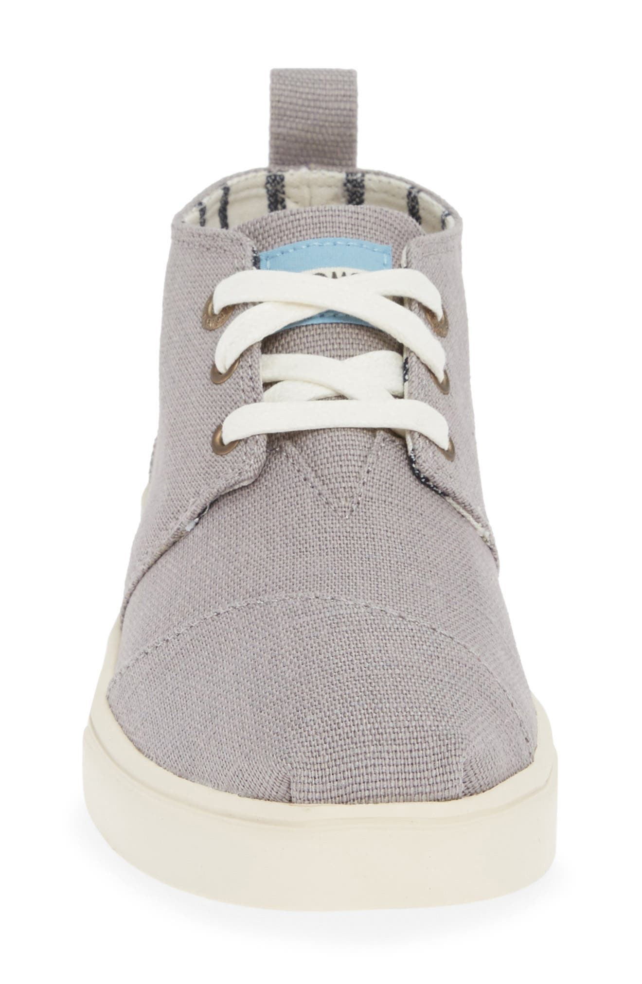 TOMS,                             Bota Bootie,                             Alternate thumbnail 4, color,                             MORNING DOVE HERITAGE CANVAS