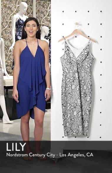 Nadia Plunge V-Neck Lace Dress, sales video thumbnail
