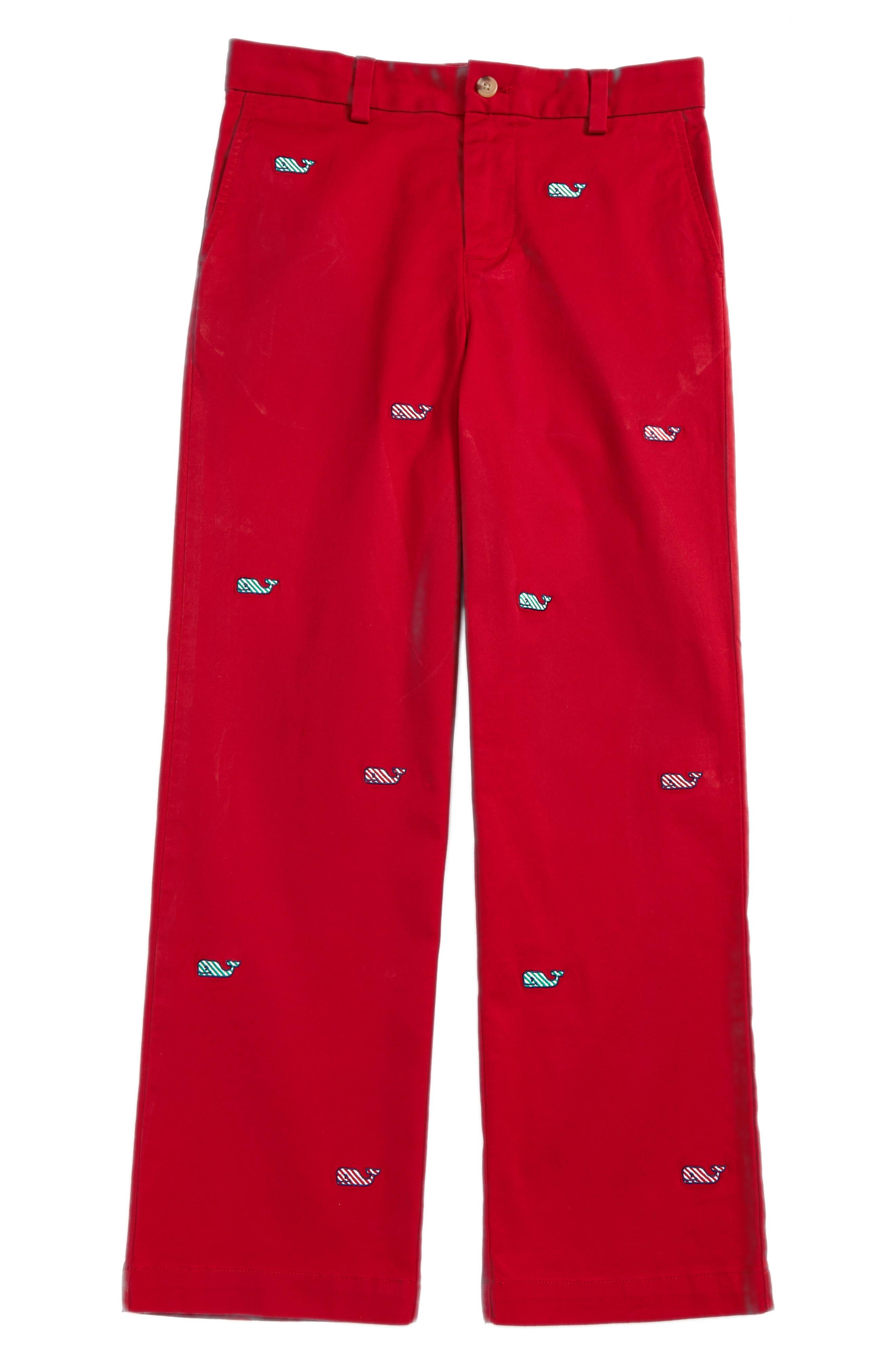 Candy Cane Whale Breaker Pants,                             Main thumbnail 1, color,