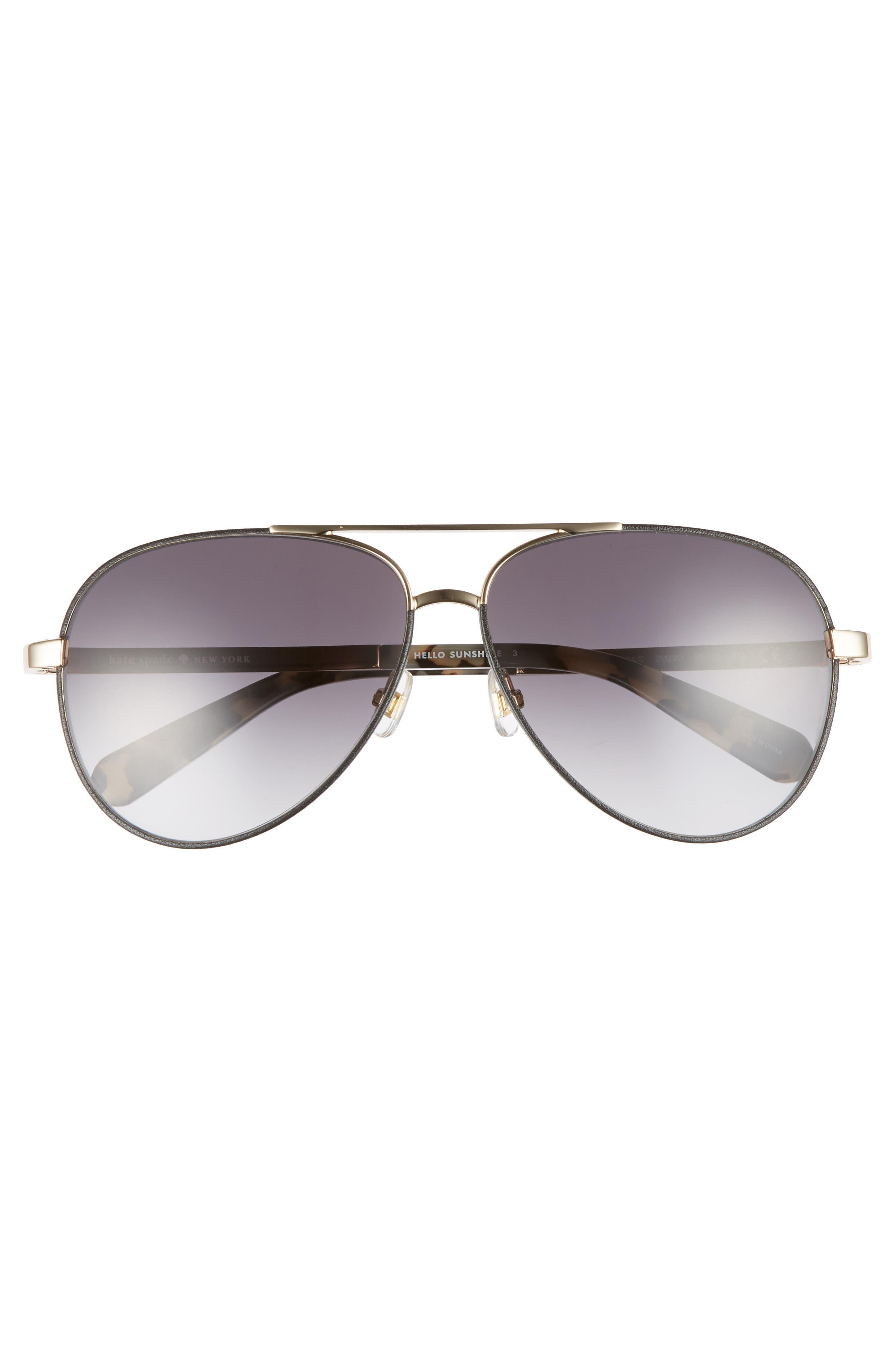 amaris 59mm sunglasses,                             Alternate thumbnail 3, color,                             001