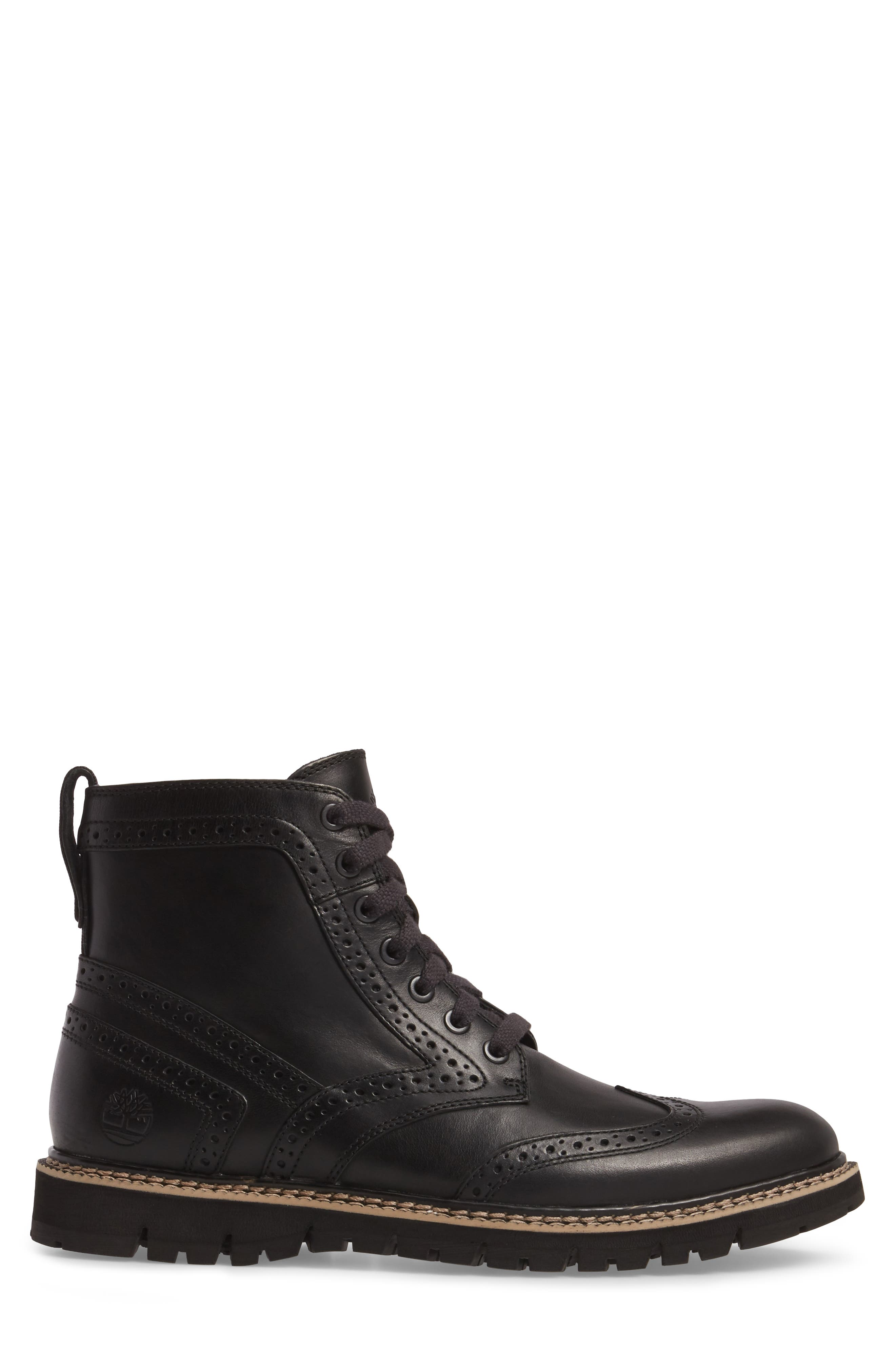 Britton Hill Wingtip Boot,                             Alternate thumbnail 5, color,