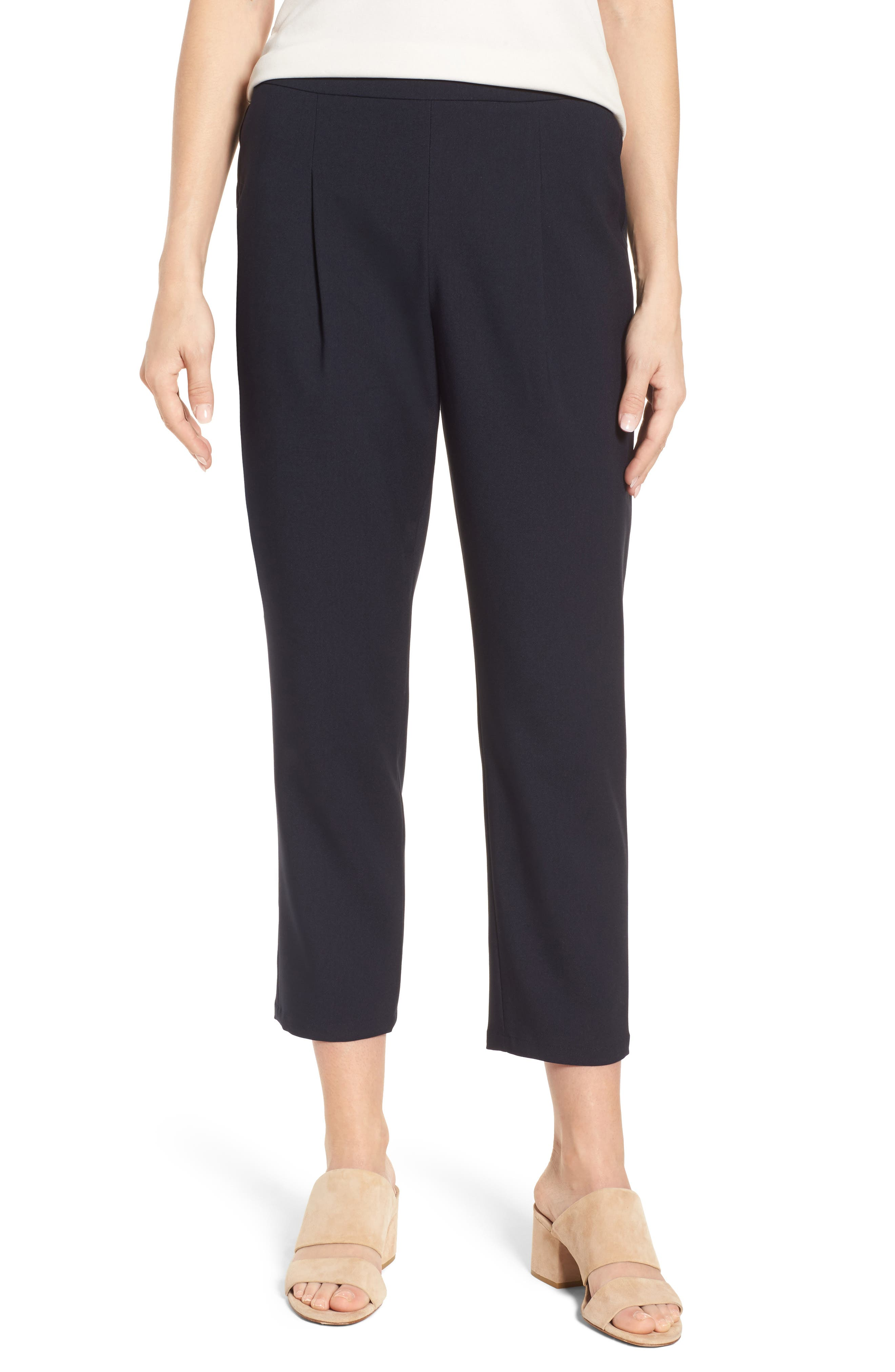 Twill Ankle Pants,                             Main thumbnail 2, color,