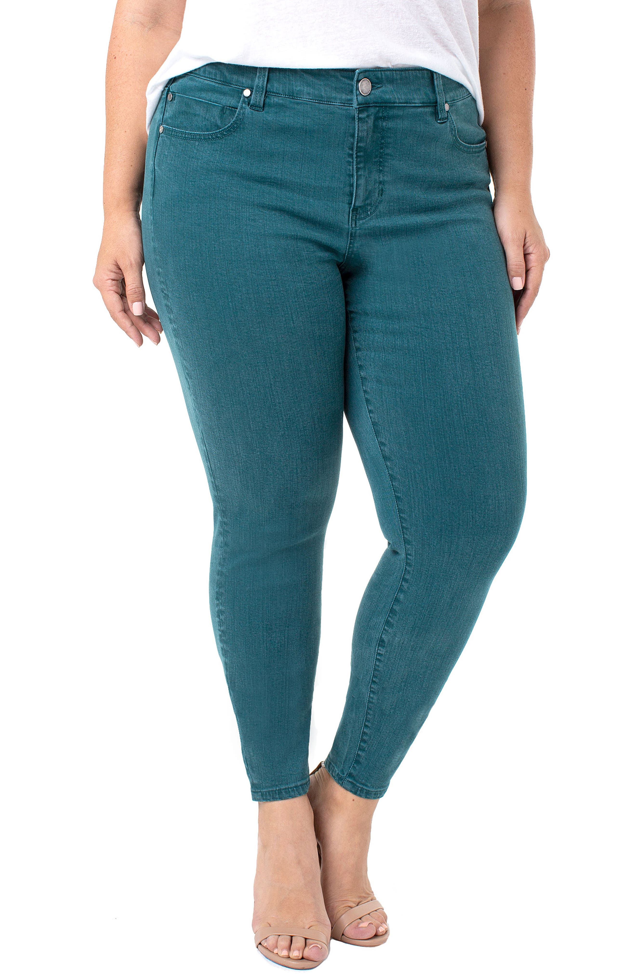 Abby Skinny Jeans,                         Main,                         color, 360