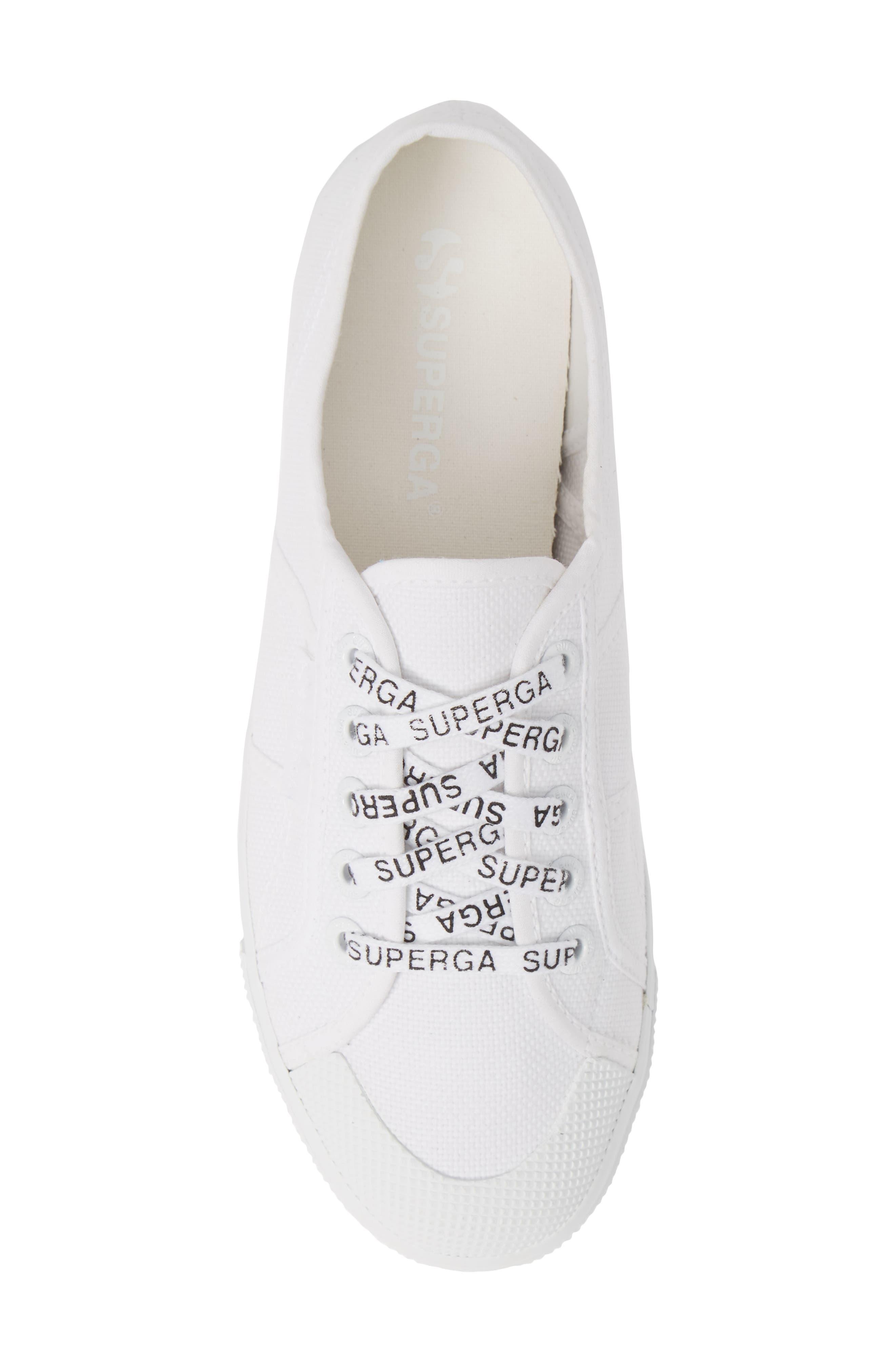 2405 Cotu Platform Sneaker,                             Alternate thumbnail 5, color,                             WHITE/ WHITE