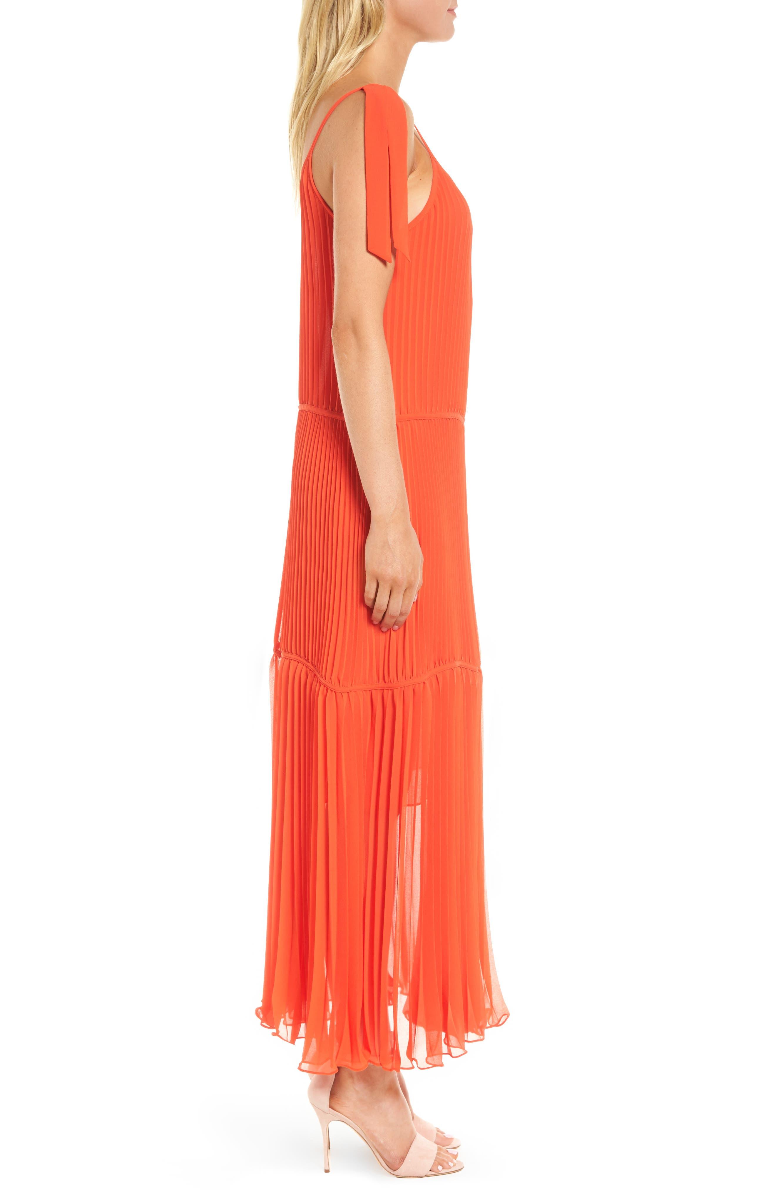 Chiffon Maxi Dress,                             Alternate thumbnail 9, color,