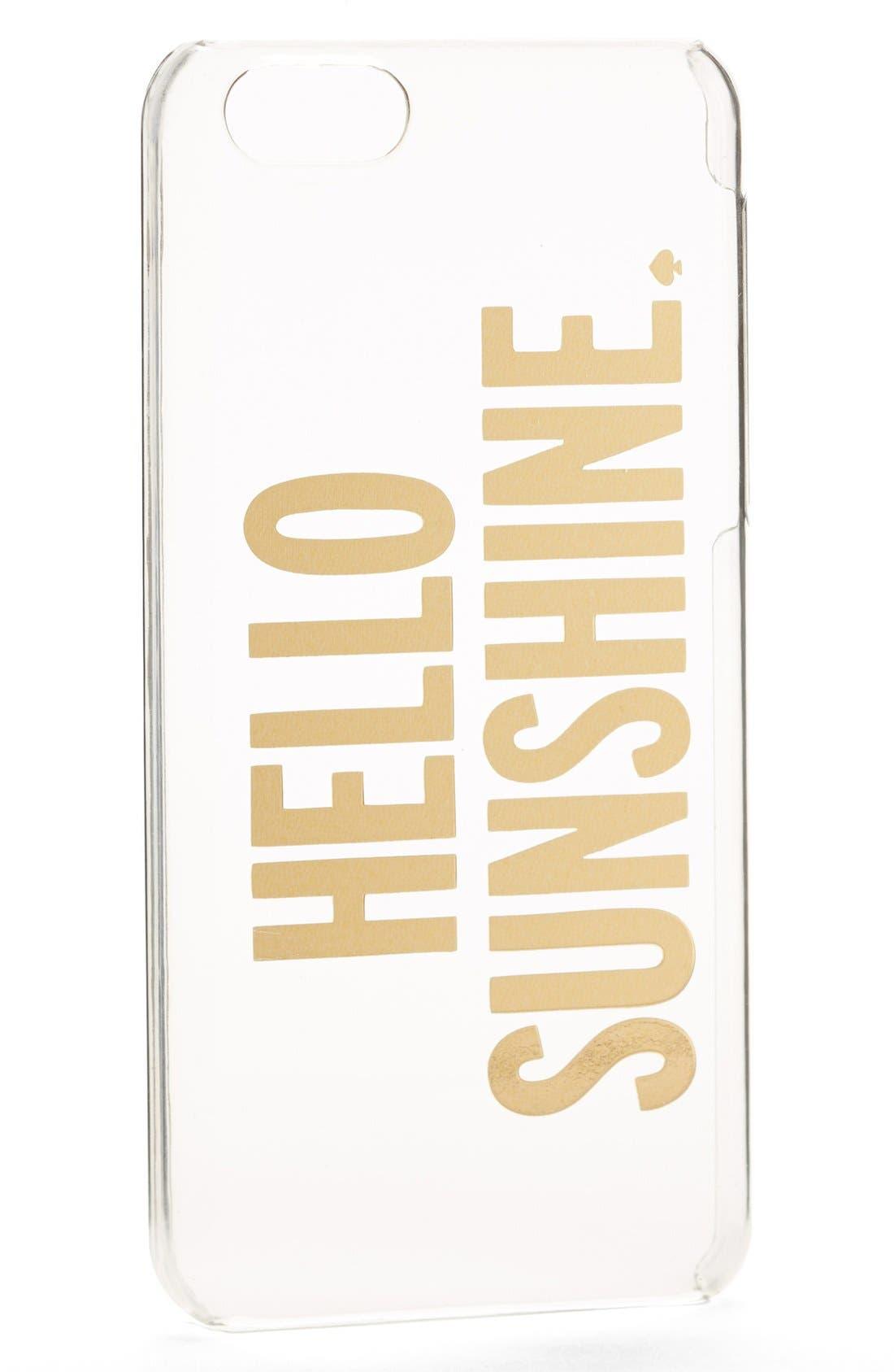 'hello sunshine' iPhone 5c case,                             Alternate thumbnail 2, color,                             710