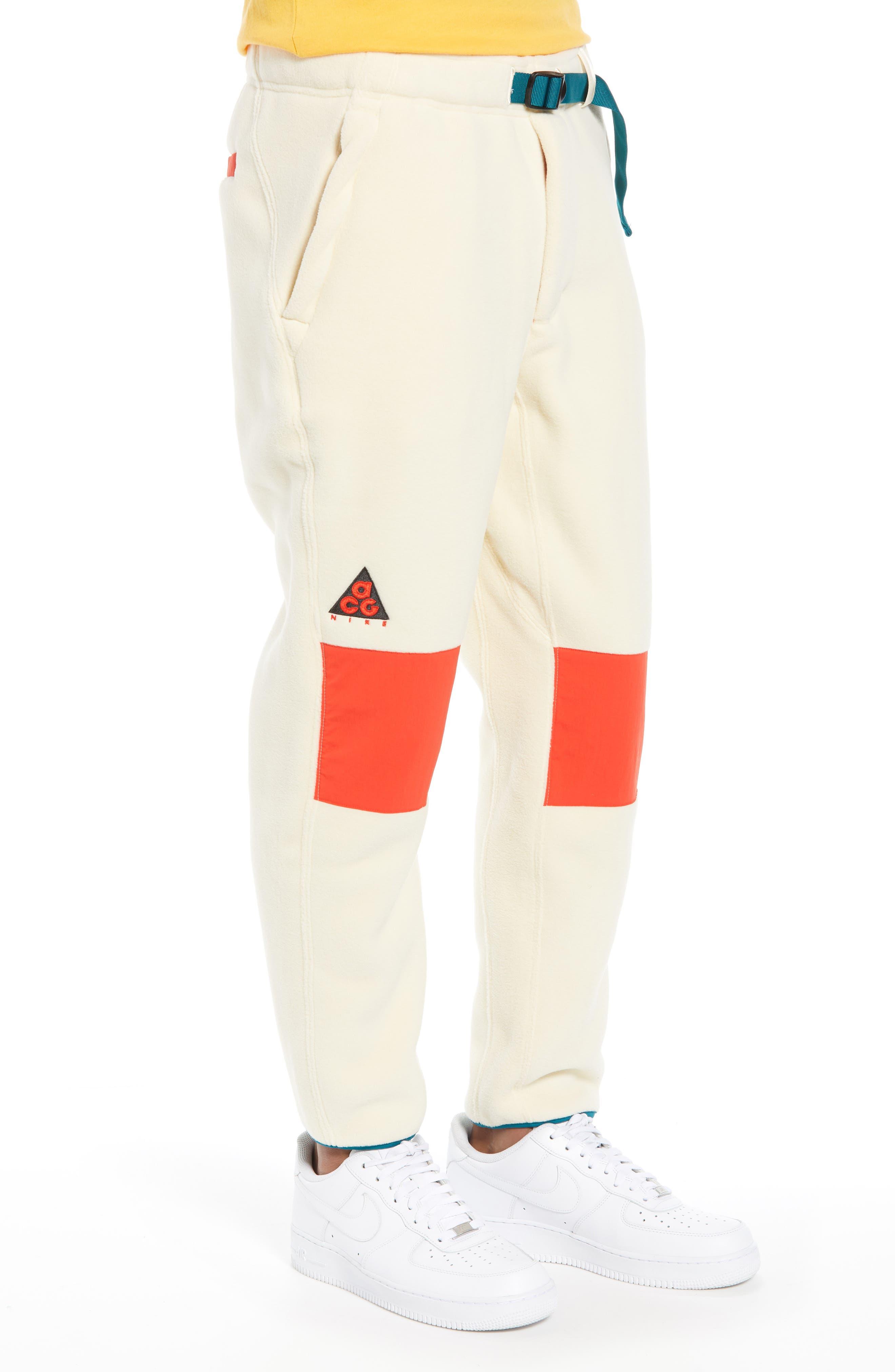 ACG Men's Fleece Pants,                             Alternate thumbnail 3, color,                             LIGHT CREAM
