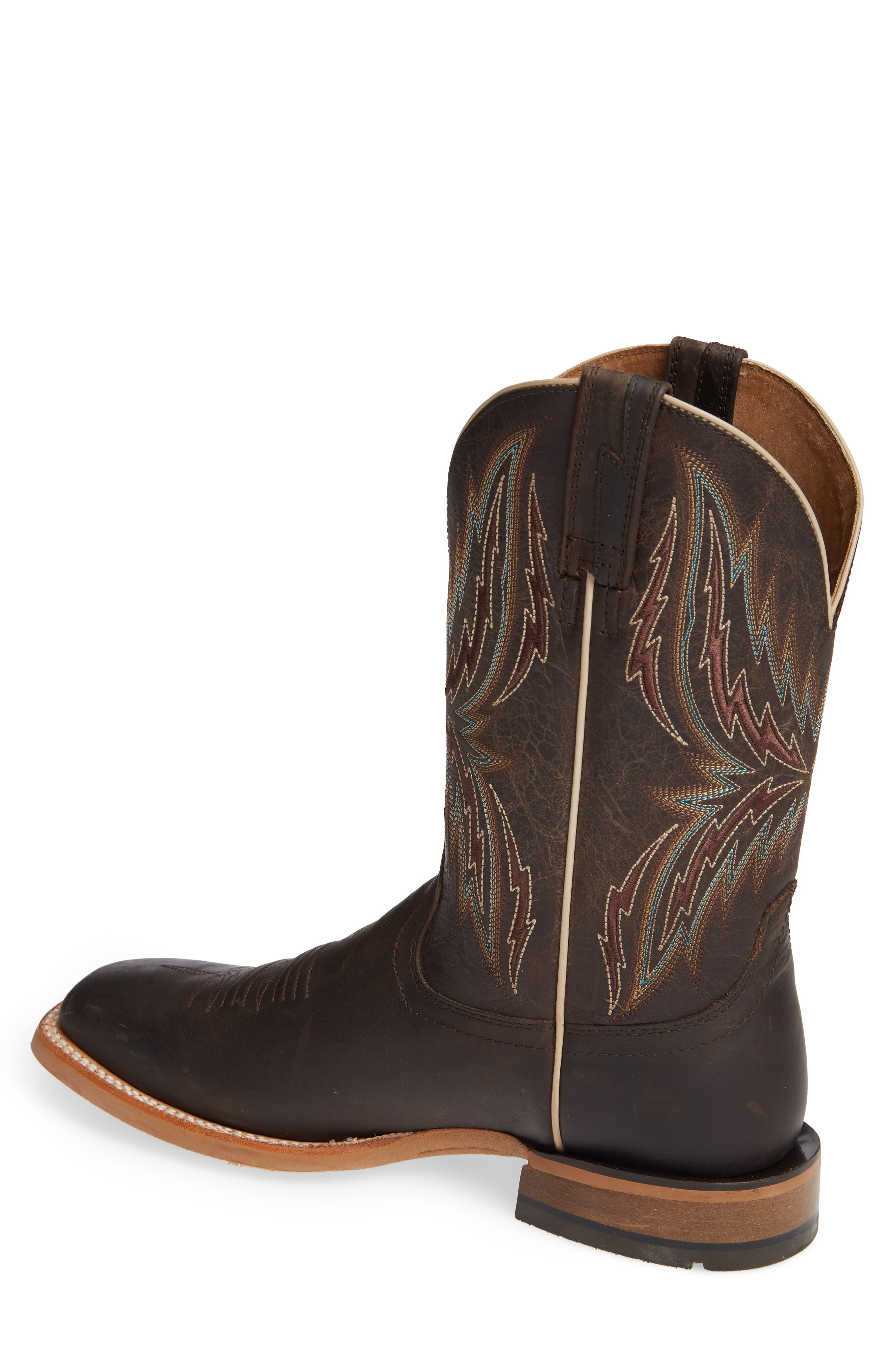 Arena Rebound Cowboy Boot,                             Alternate thumbnail 2, color,                             BROWN/ DESERT LEATHER
