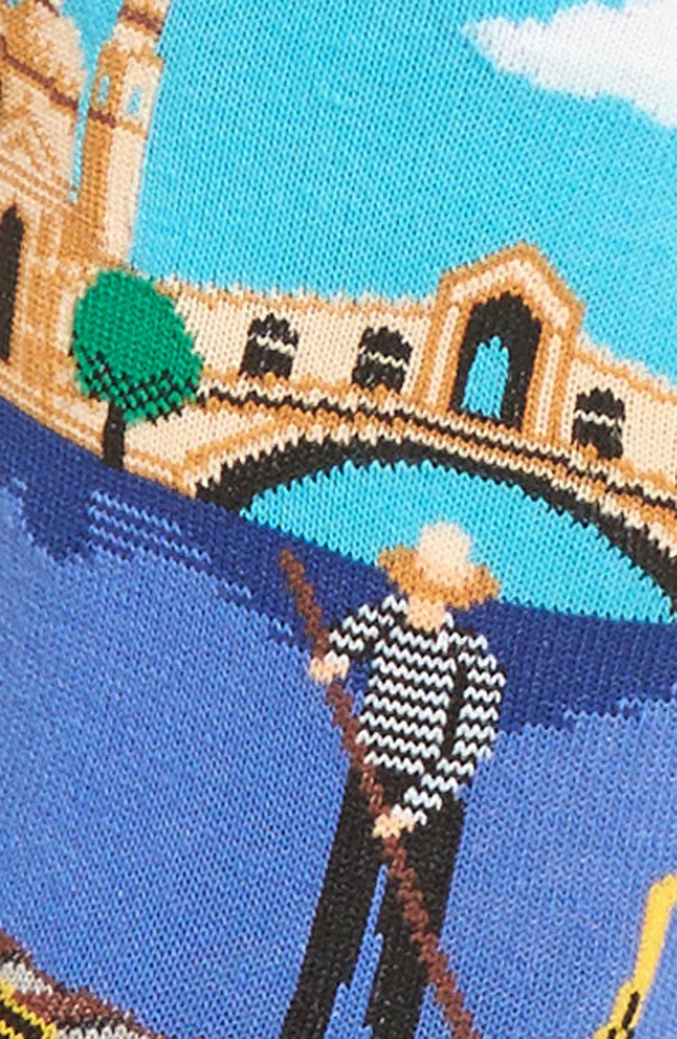 Travel Series - Venice Crew Socks,                             Alternate thumbnail 3, color,                             468