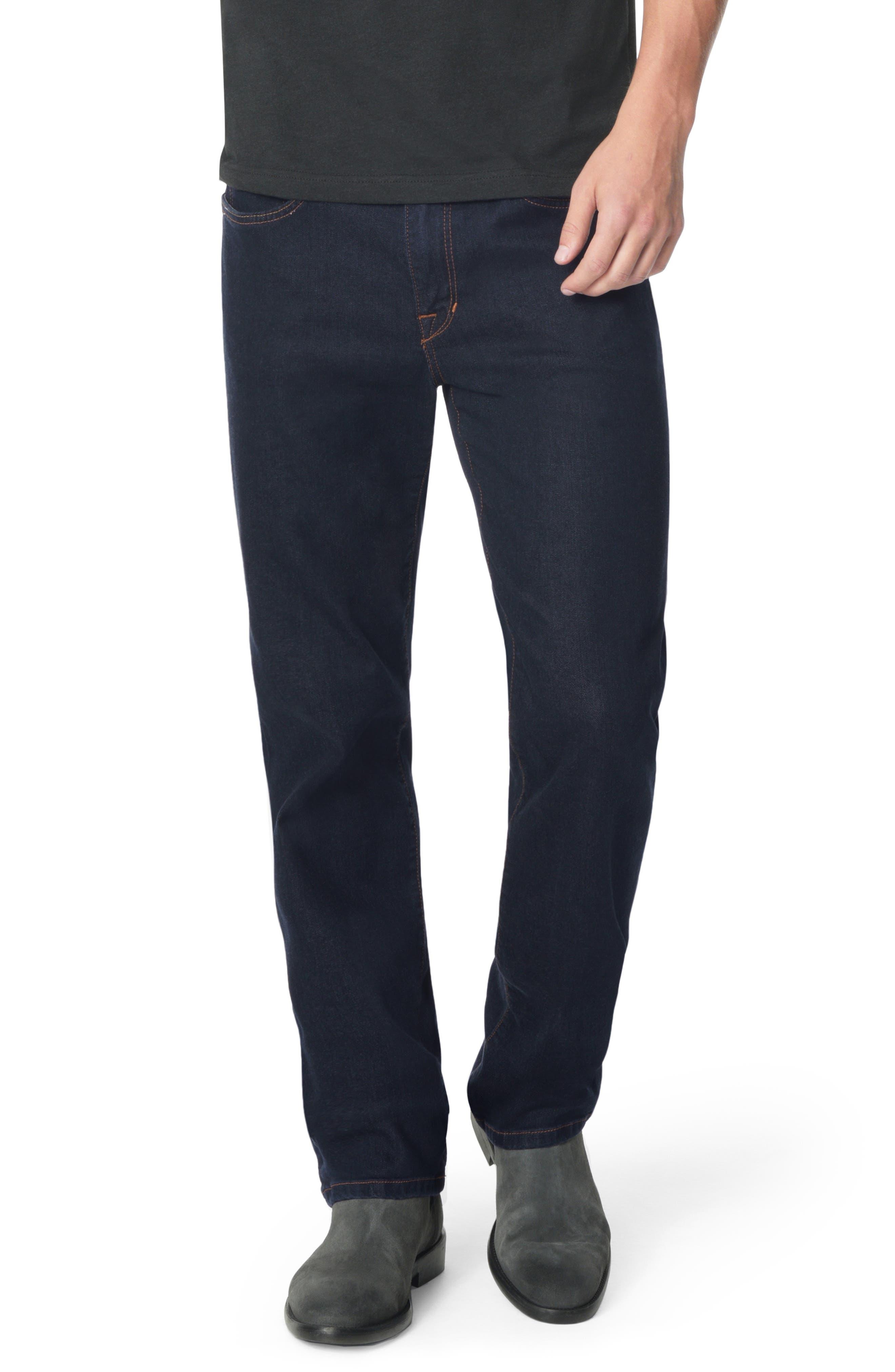 Classic Straight Leg Jeans,                             Main thumbnail 1, color,                             SIMON