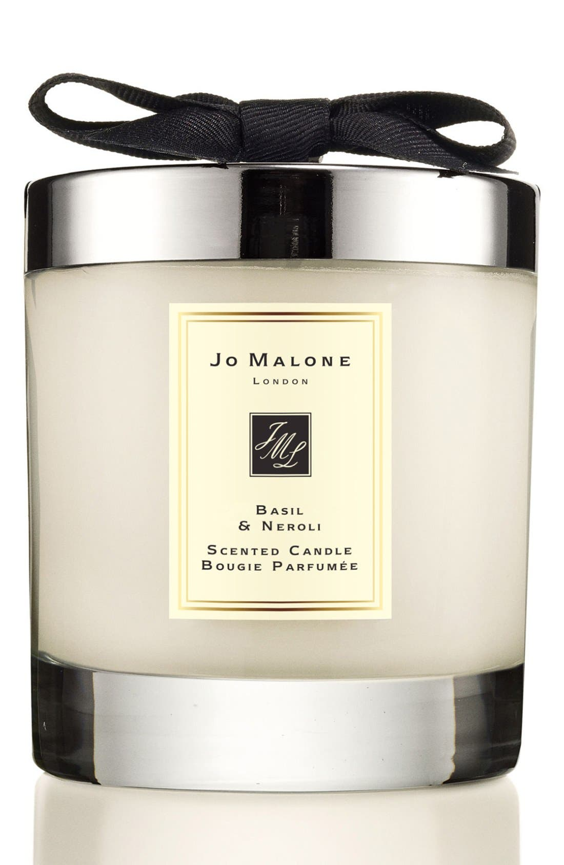 Jo Malone<sup>™</sup> Basil & Neroli Candle,                         Main,                         color, NO COLOR