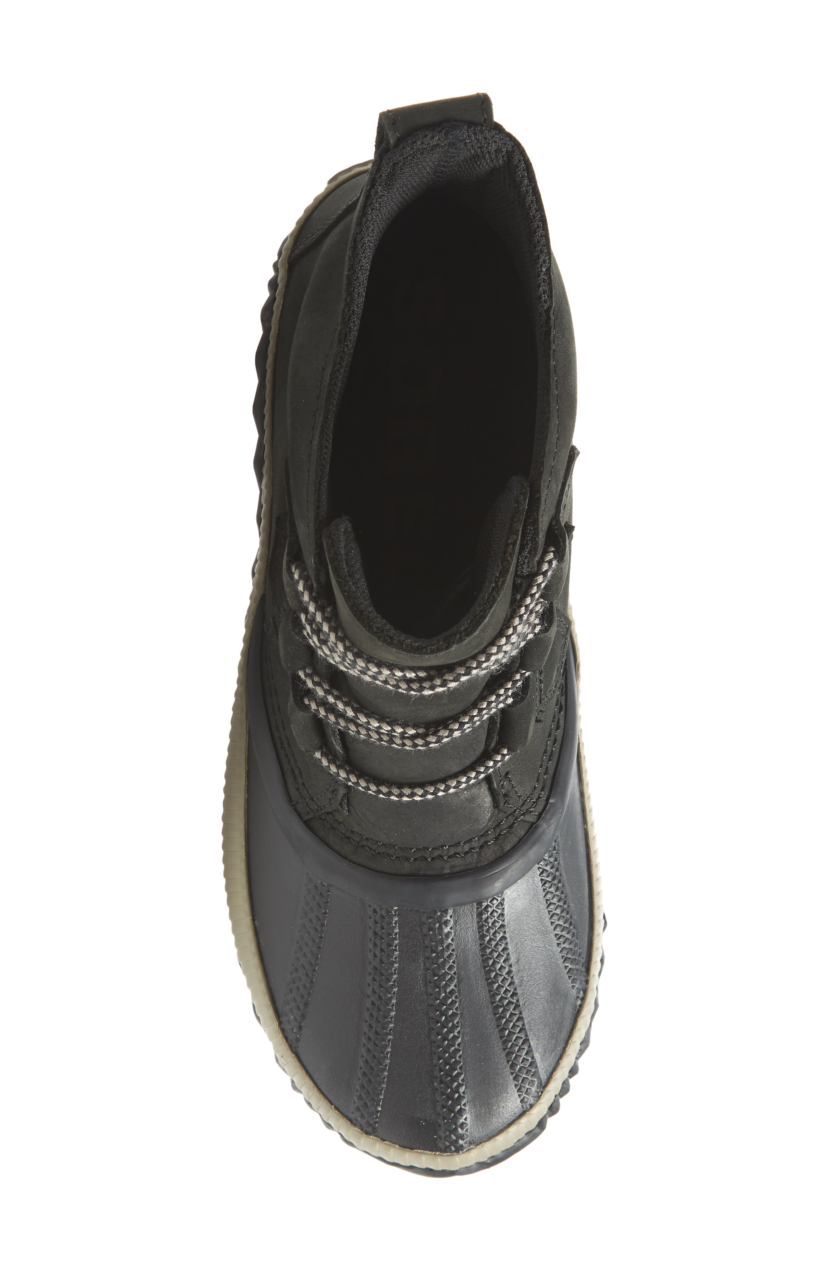 Out N About Plus Waterproof Bootie,                             Alternate thumbnail 5, color,                             BLACK