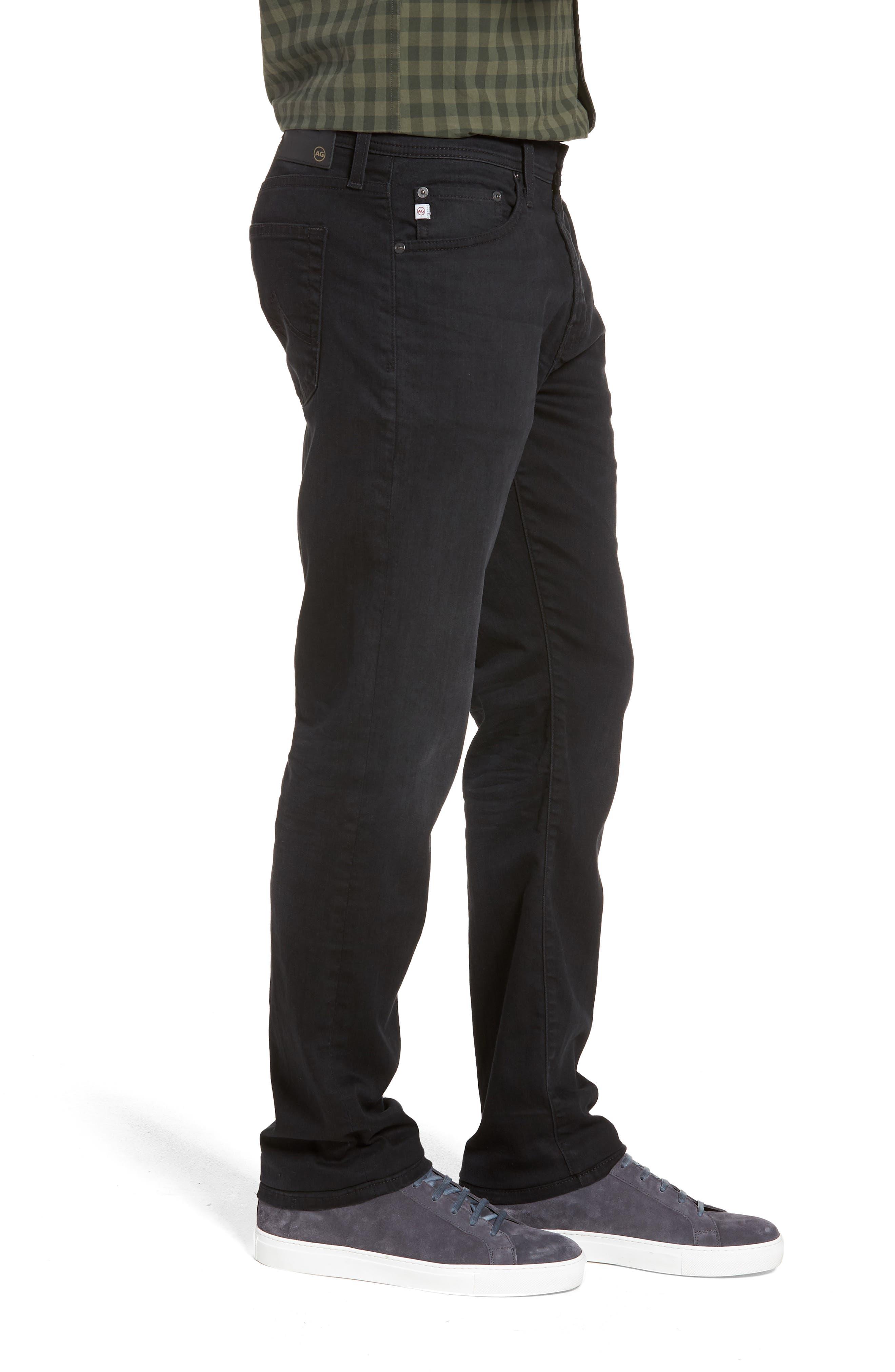 Everett Slim Straight Leg Jeans,                             Alternate thumbnail 3, color,                             001