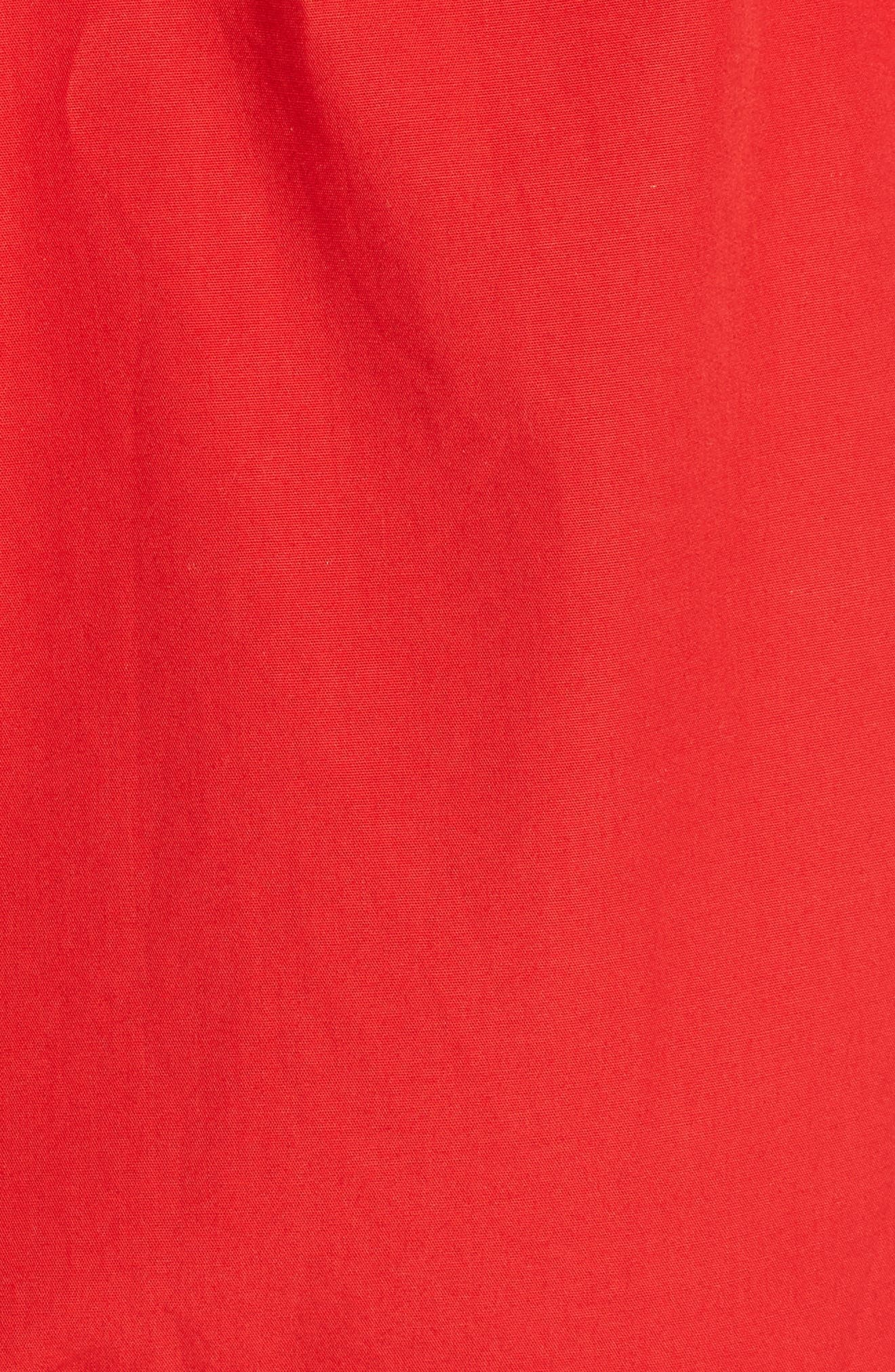 Maida Faux Wrap Ruffle Dress,                             Alternate thumbnail 5, color,                             601
