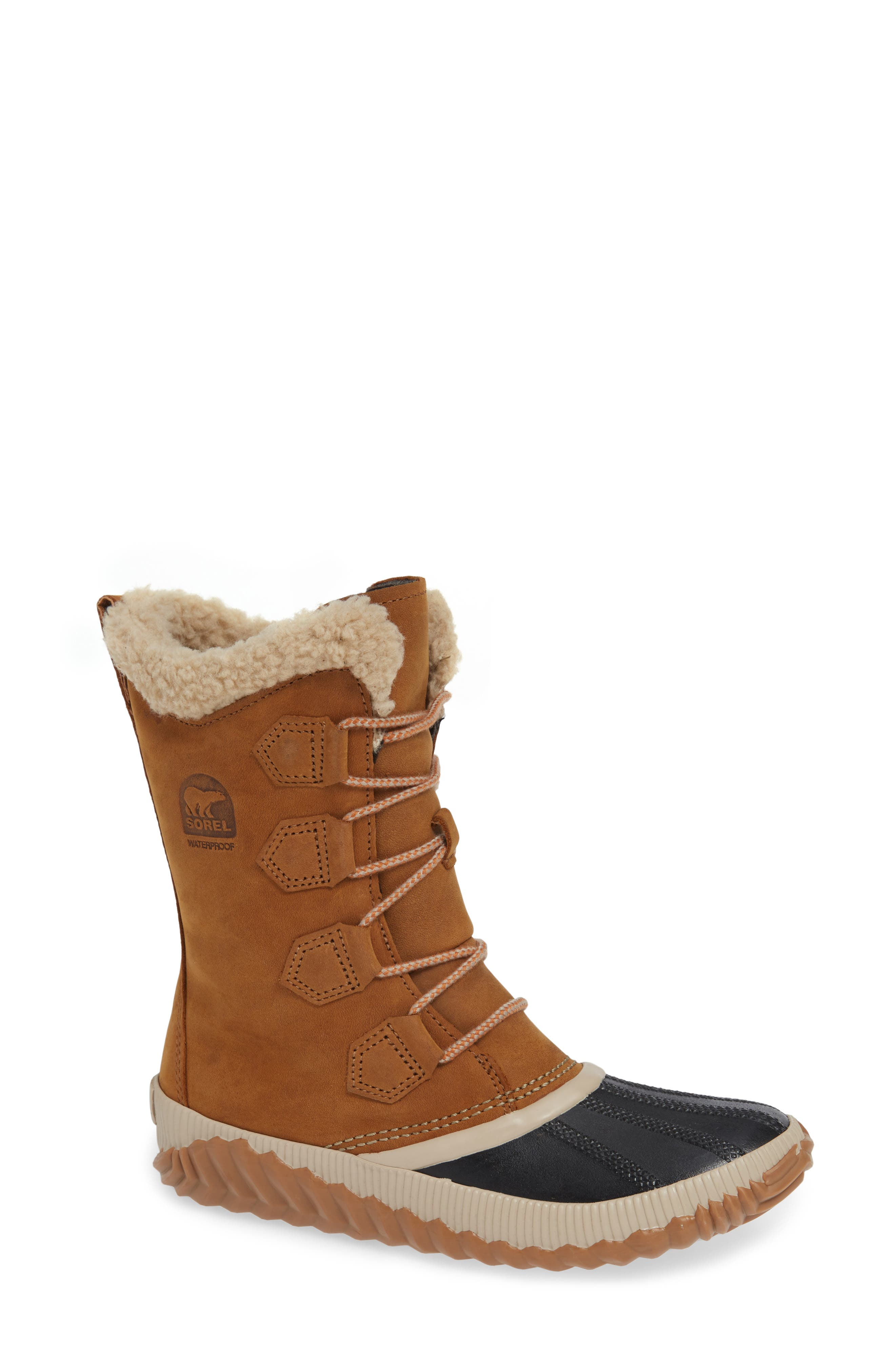 Sorel Out N About Plus Tall Waterproof Boot, Brown