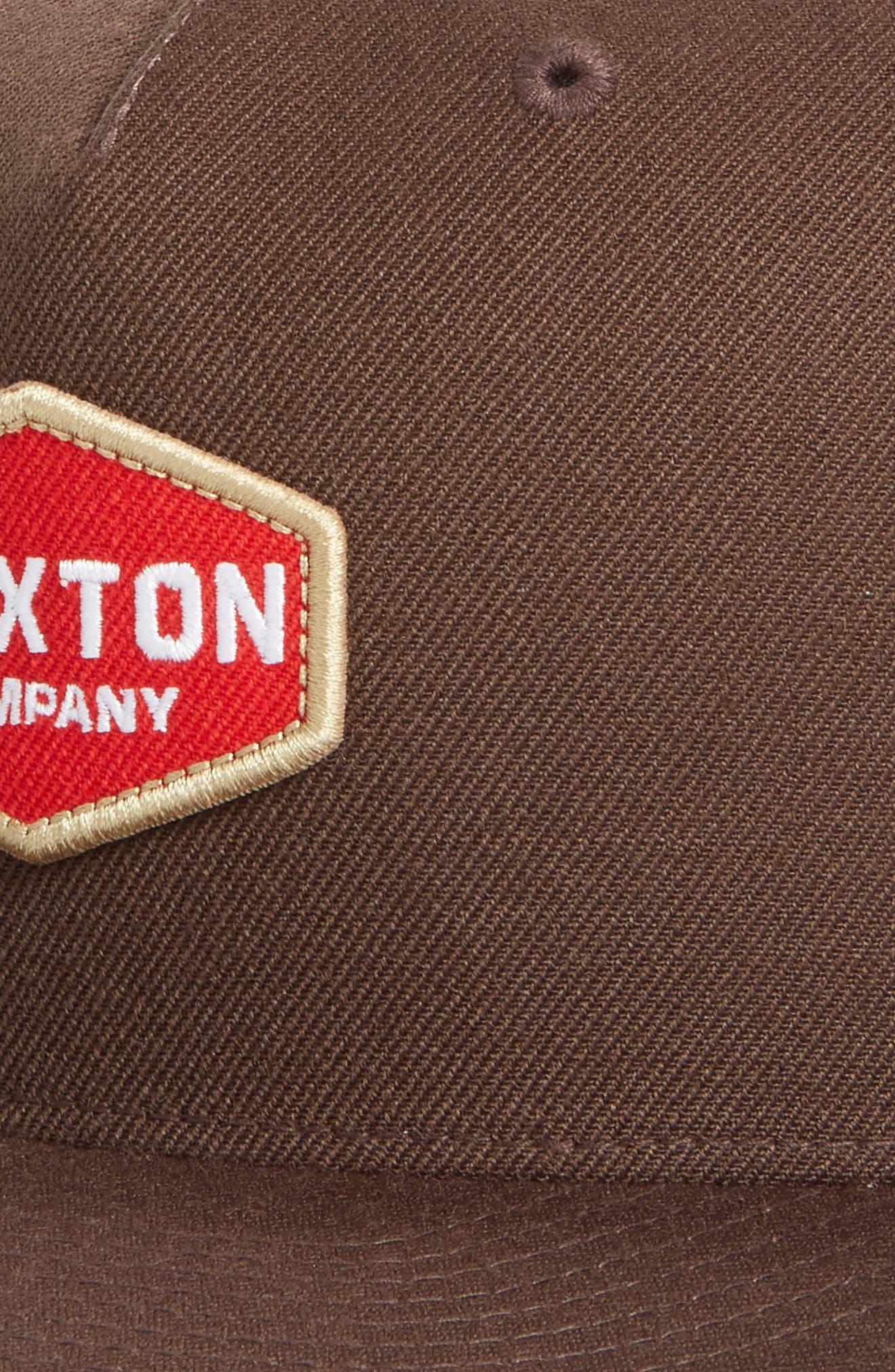 Brighton Obtuse Snapback Baseball Cap,                             Alternate thumbnail 3, color,                             200