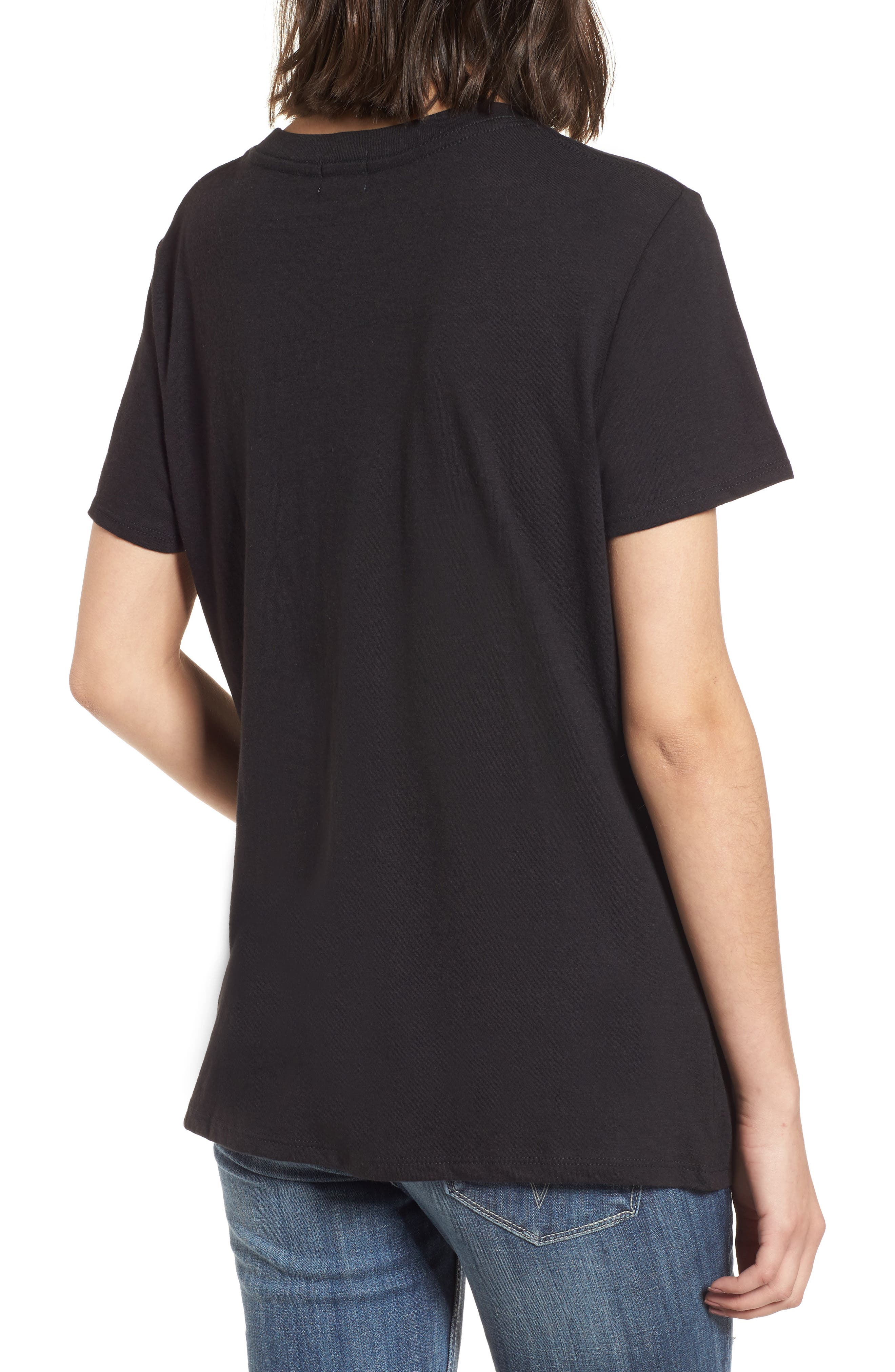 Neon Cactus Loose Fit Tee,                             Alternate thumbnail 2, color,