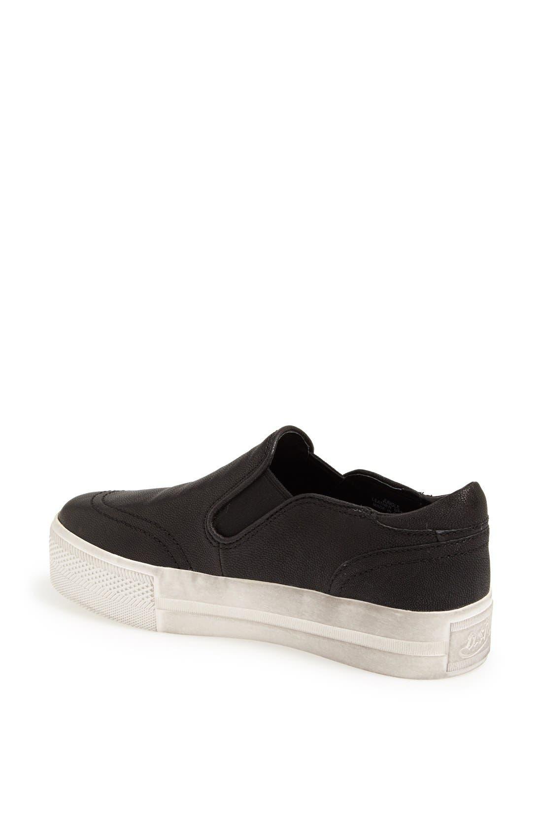 'Jungle' Platform Sneaker,                             Alternate thumbnail 2, color,                             001