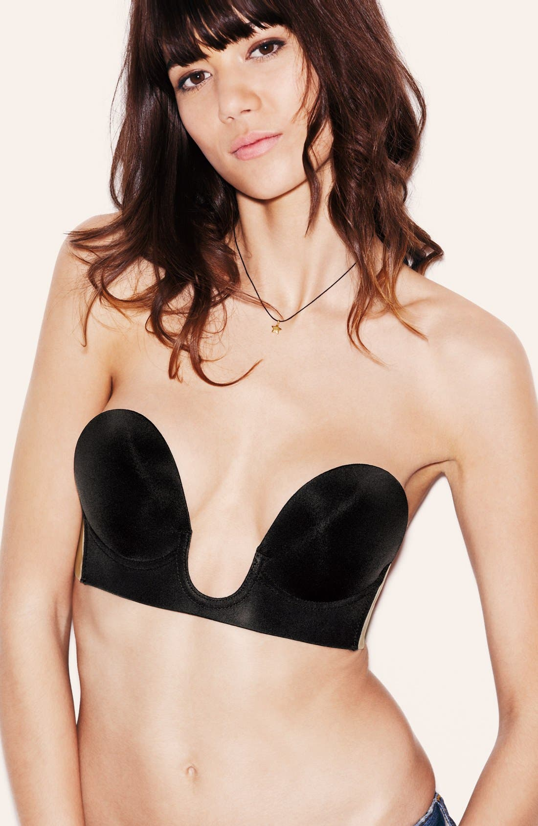 'Uplunge' Backless Strapless Underwire Bra,                             Alternate thumbnail 11, color,                             BLACK