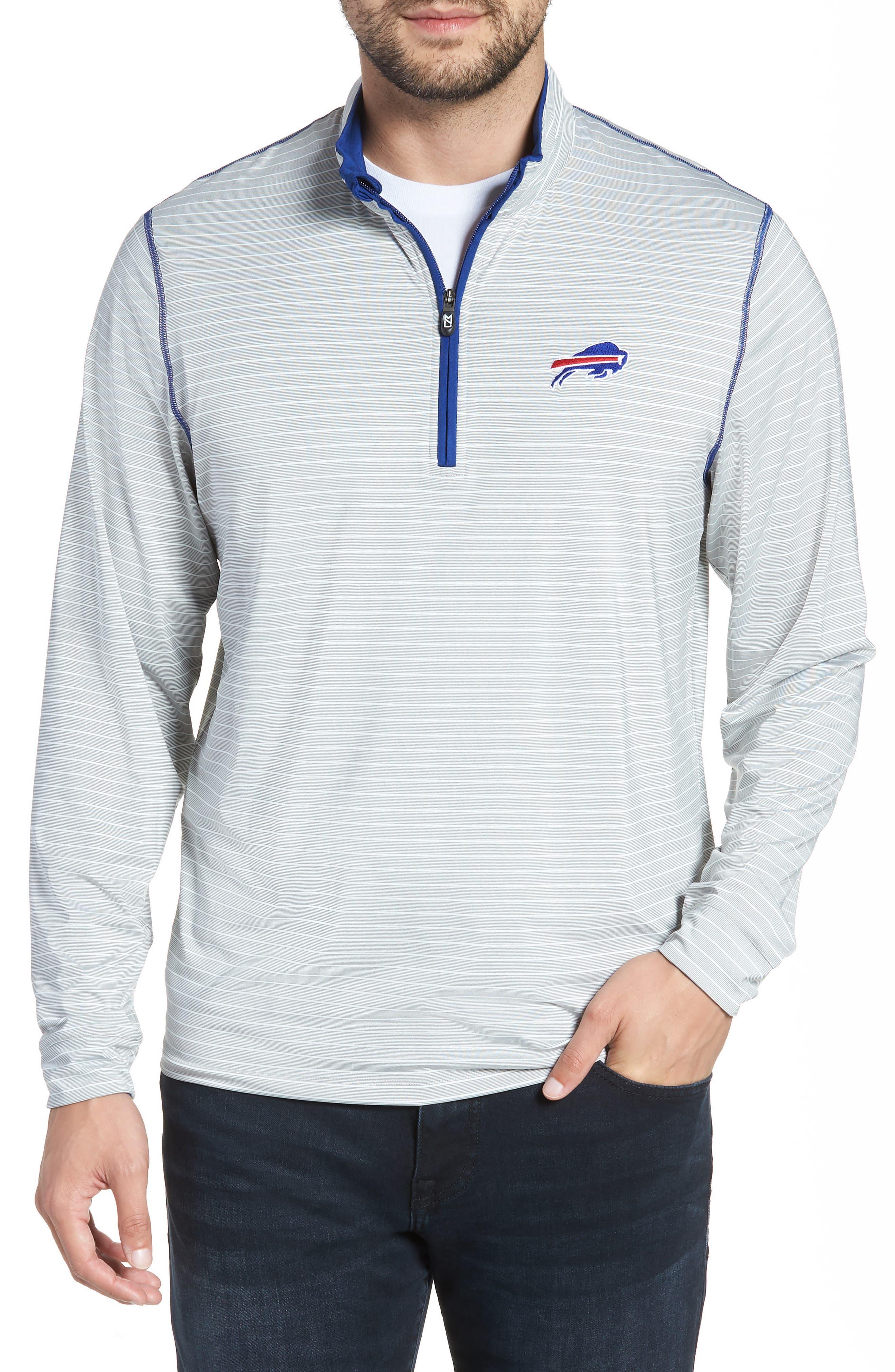 Meridian - Buffalo Bills Regular Fit Half Zip Pullover,                         Main,                         color, 462