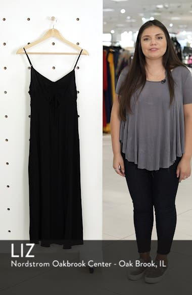 Ruched Front Midi Slipdress, sales video thumbnail