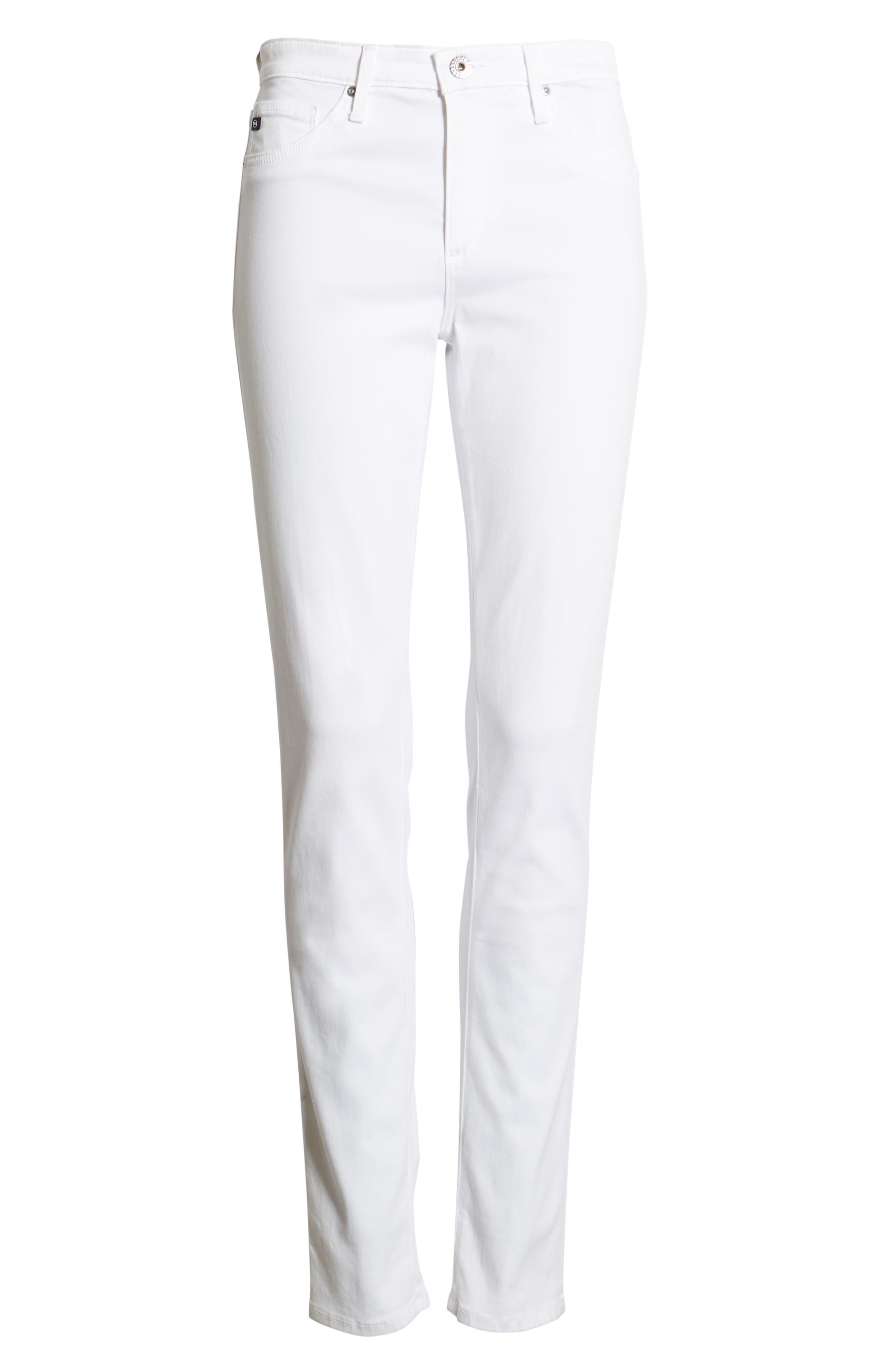 AG,                             'The Prima' Cigarette Leg Skinny Jeans,                             Alternate thumbnail 7, color,                             110