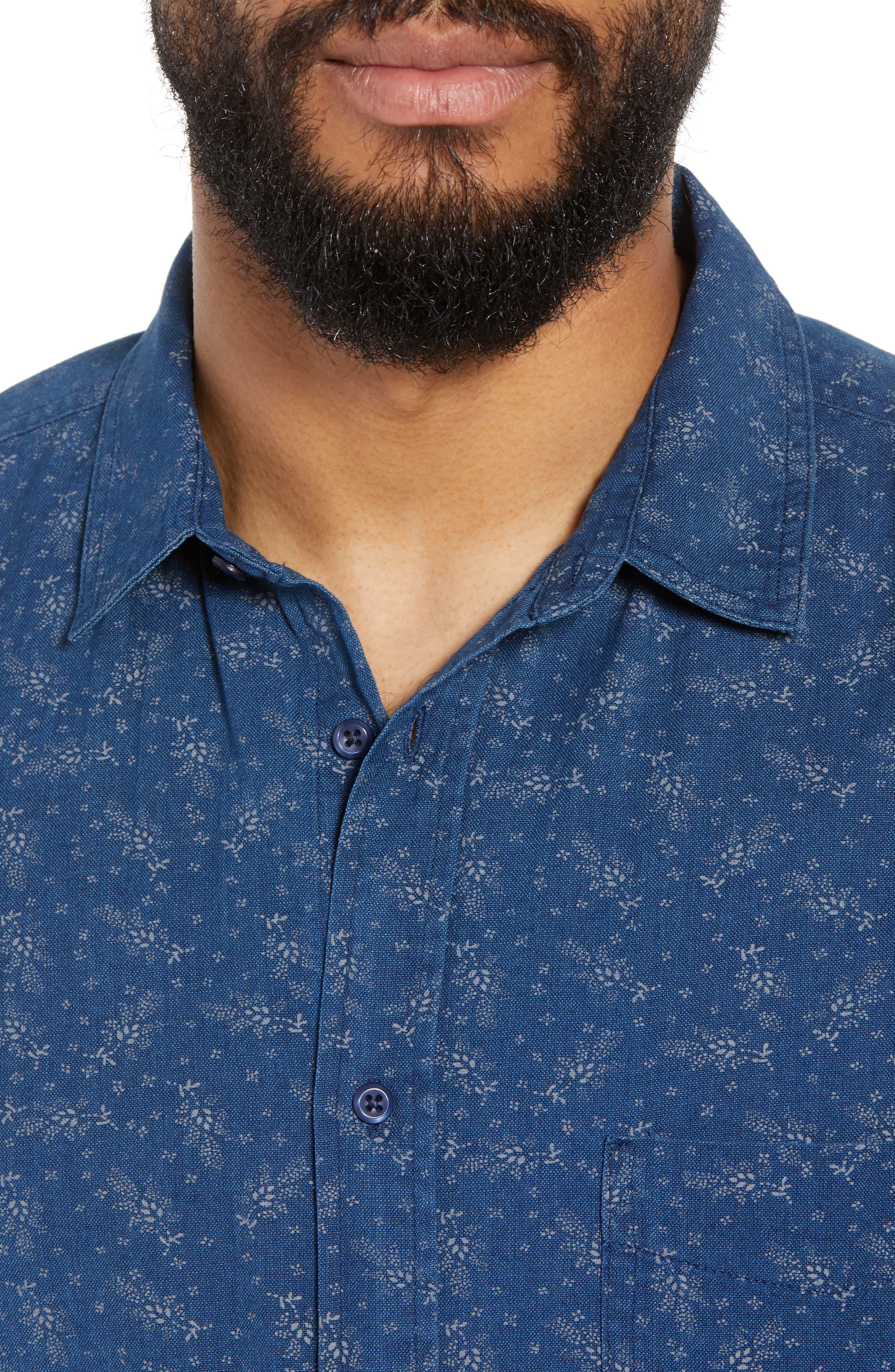 Carson Regular Fit Floral Print Sport Shirt,                             Alternate thumbnail 2, color,                             BISBEE PRINT