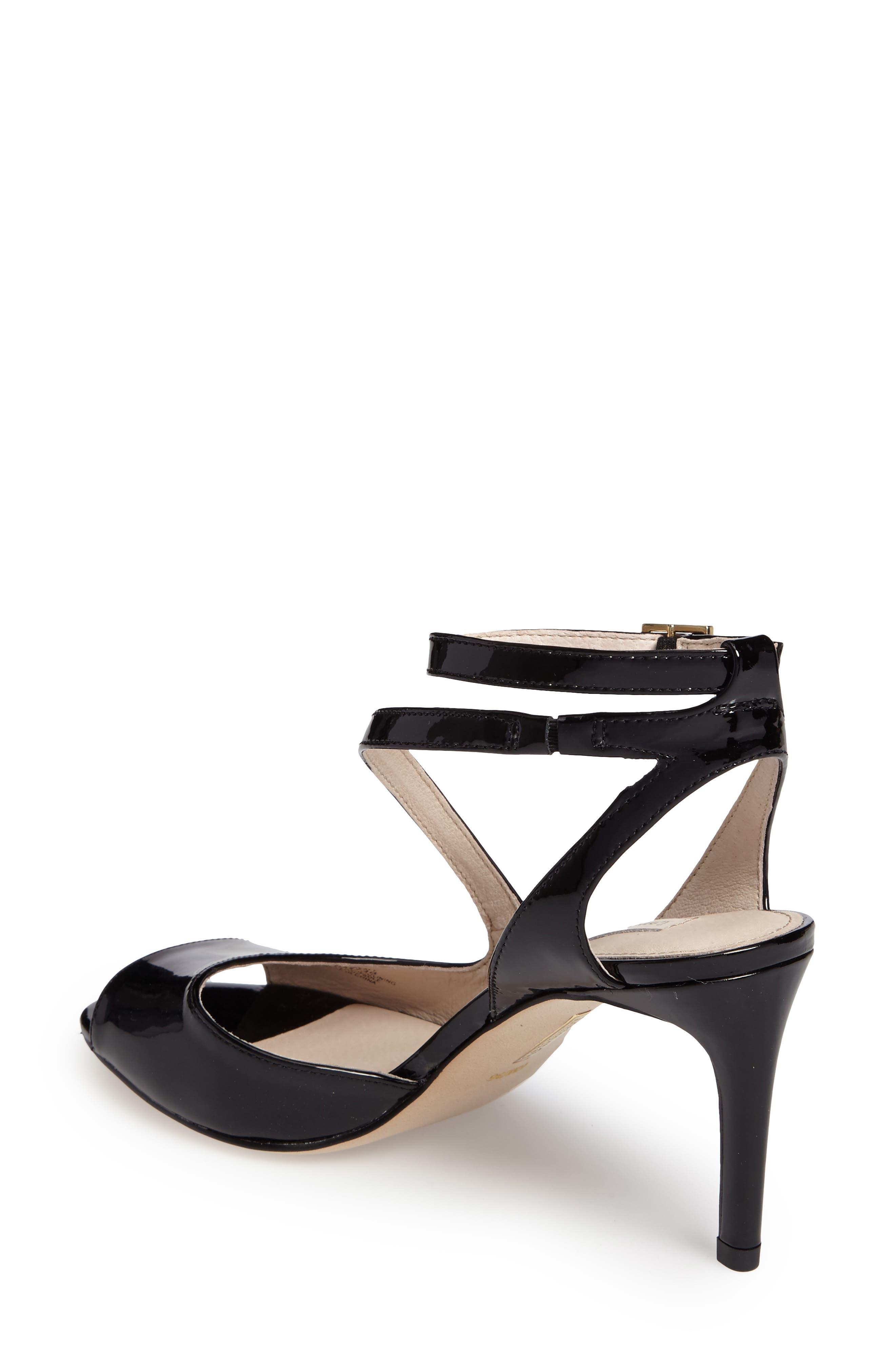 Kealy Asymmetrical Strappy Sandal,                             Alternate thumbnail 2, color,                             003
