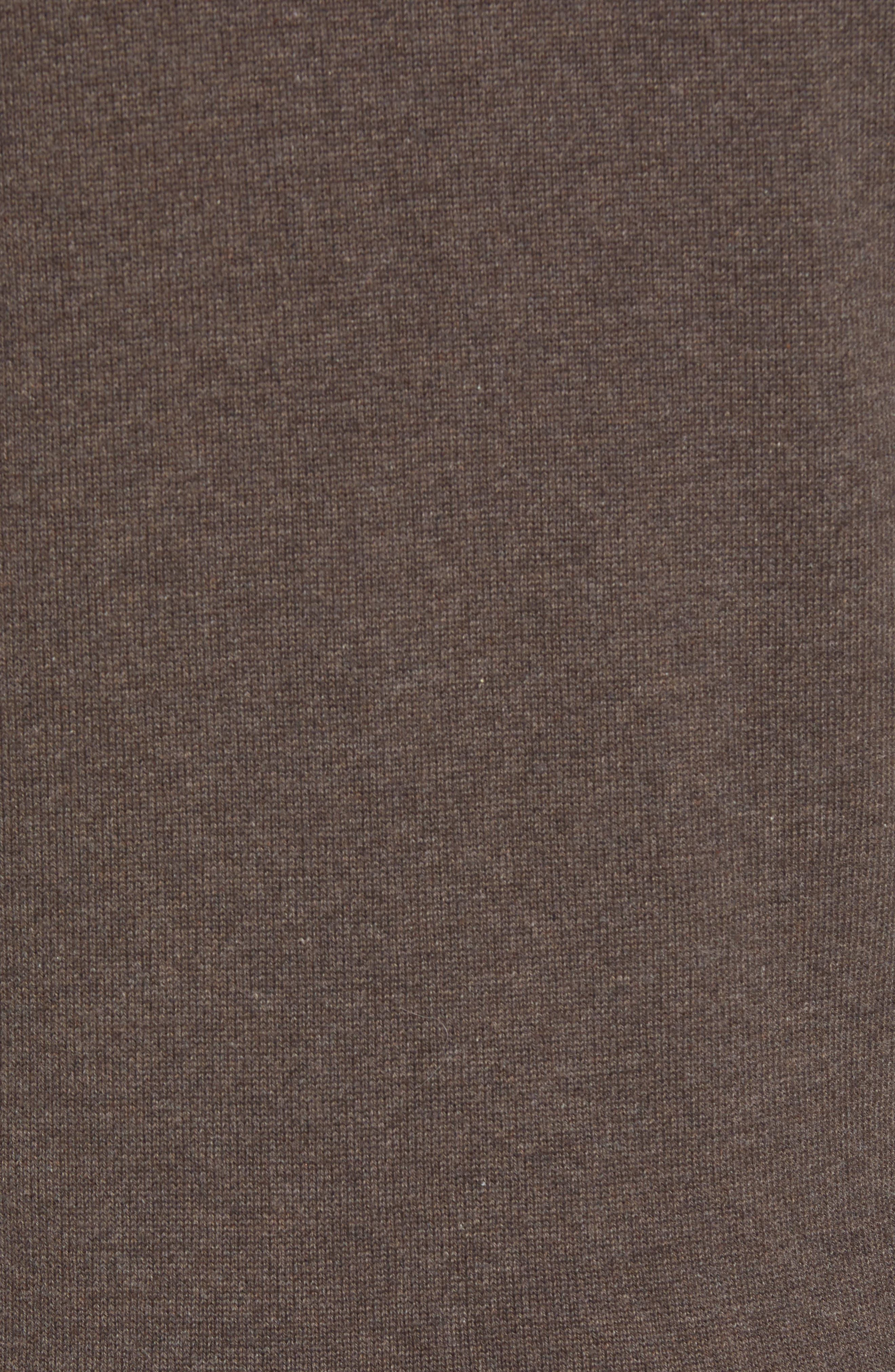 BARBOUR,                             Carn Baffle Front Knit Jacket,                             Alternate thumbnail 7, color,                             250