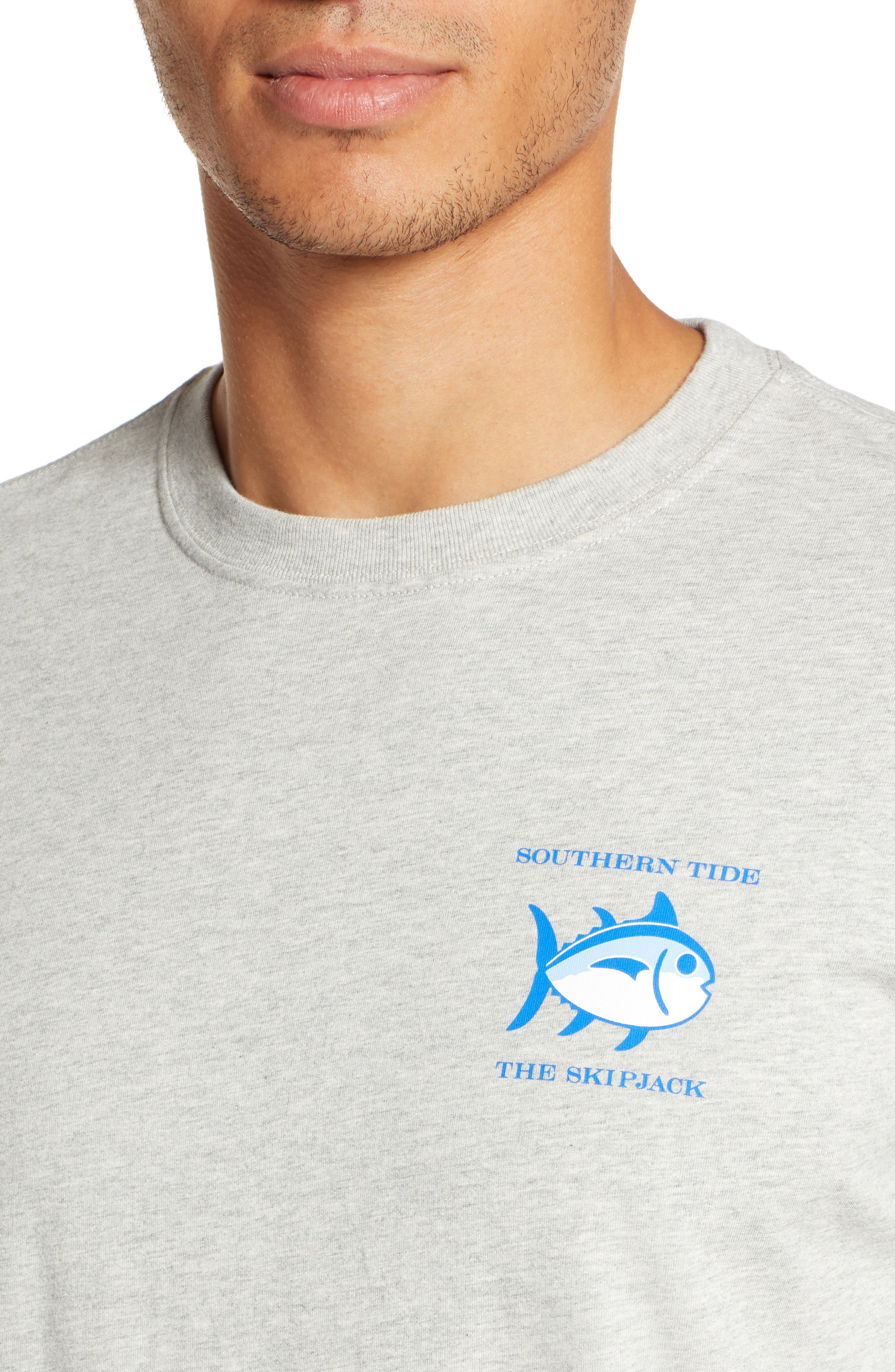 Original Skipjack T-Shirt,                             Alternate thumbnail 4, color,                             LIGHT GREY