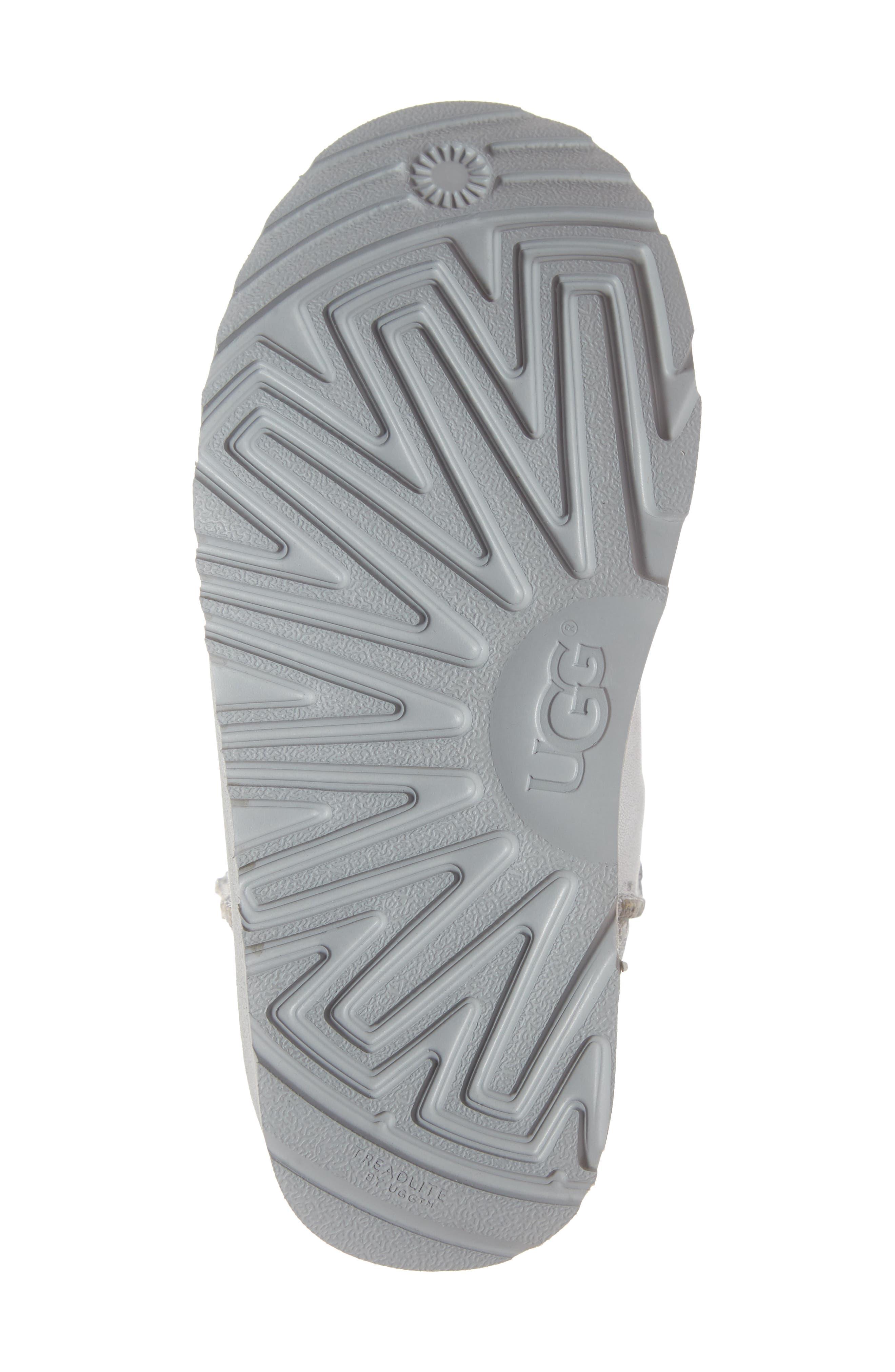 Classic Short II Metallic Patchwork Boot,                             Alternate thumbnail 6, color,                             SILVER