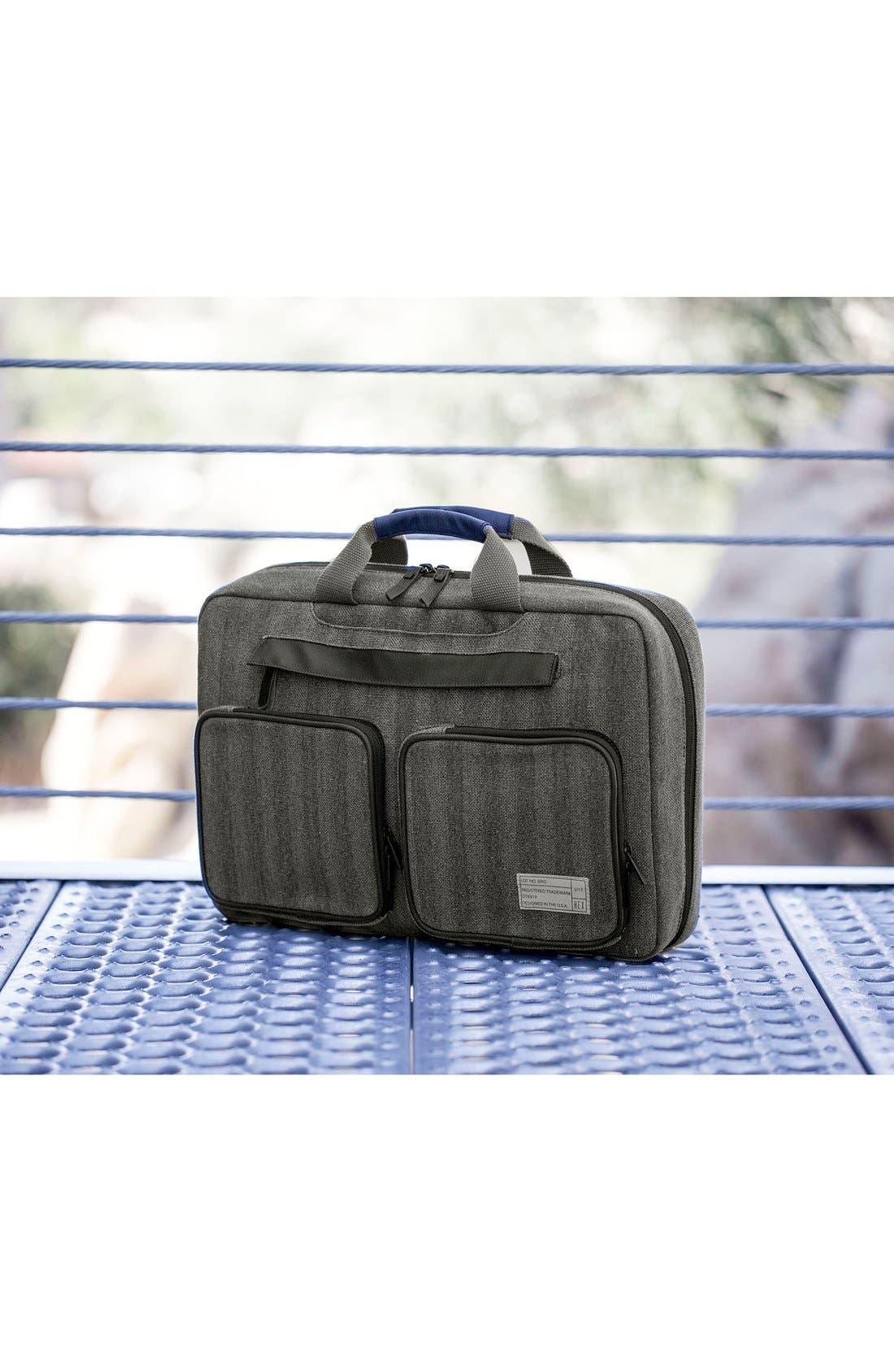 Radar Convertible Water Resistant Briefcase,                             Alternate thumbnail 29, color,