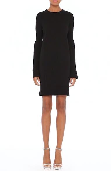 Cashmere Blend Bell Sleeve Dress, video thumbnail