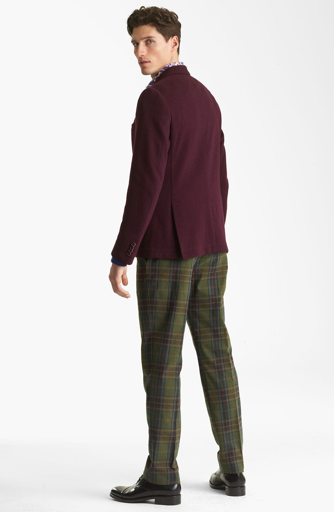 V-Neck Sweater,                             Alternate thumbnail 6, color,                             400