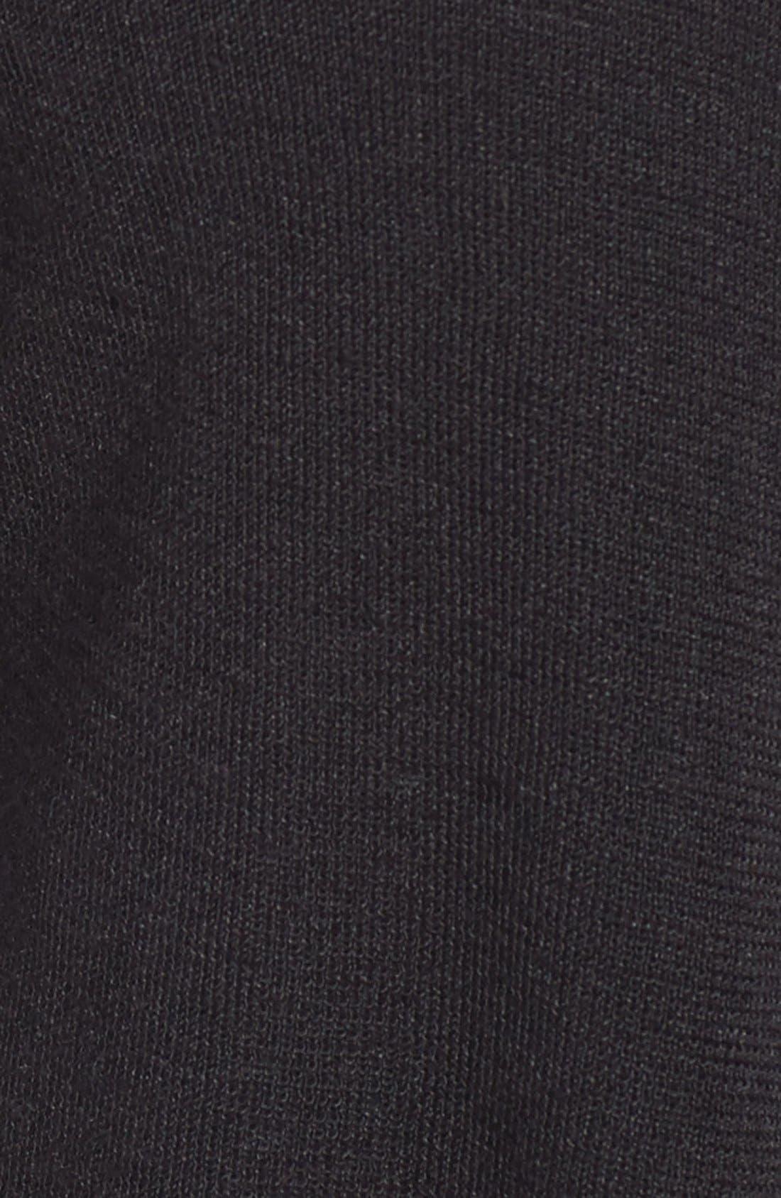 Open Blazer Cardigan,                             Alternate thumbnail 8, color,                             BLACK ONYX