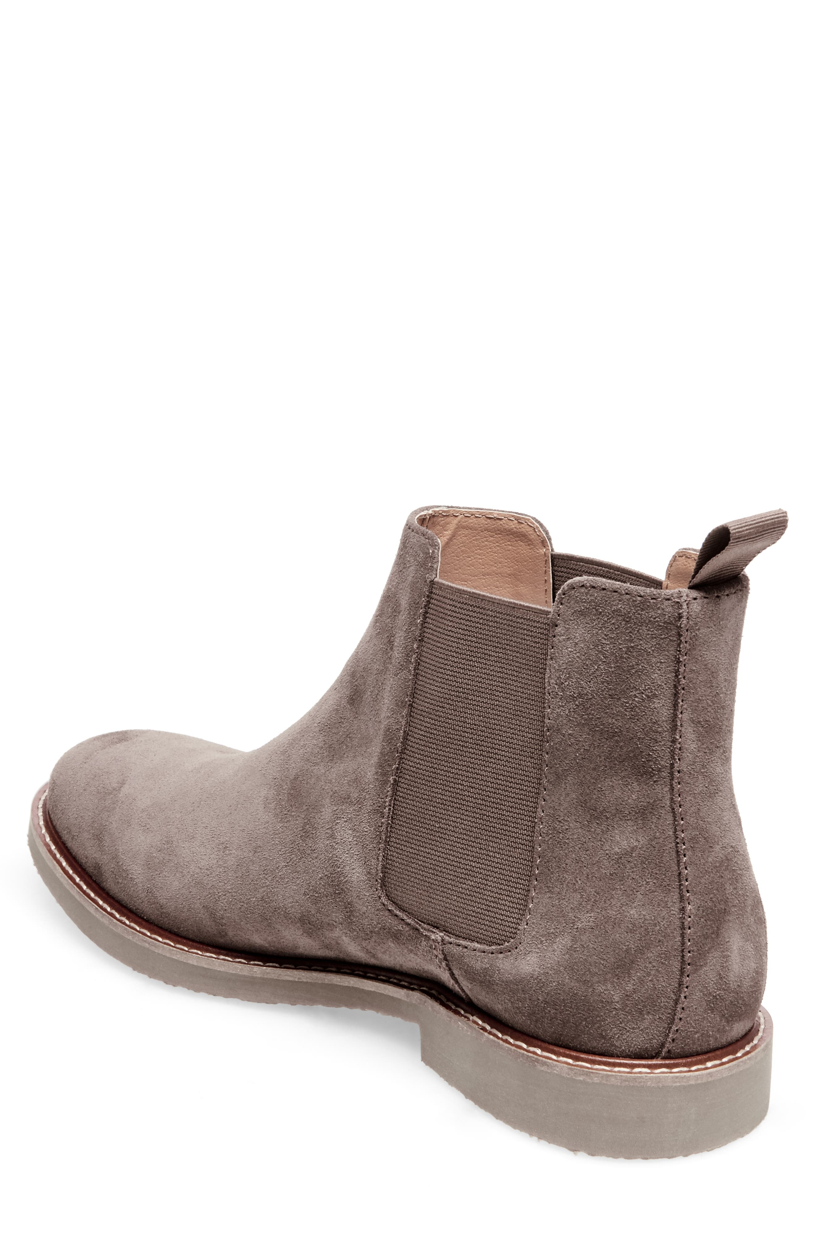 Highline Chelsea Boot,                             Alternate thumbnail 2, color,                             TAUPE SUEDE