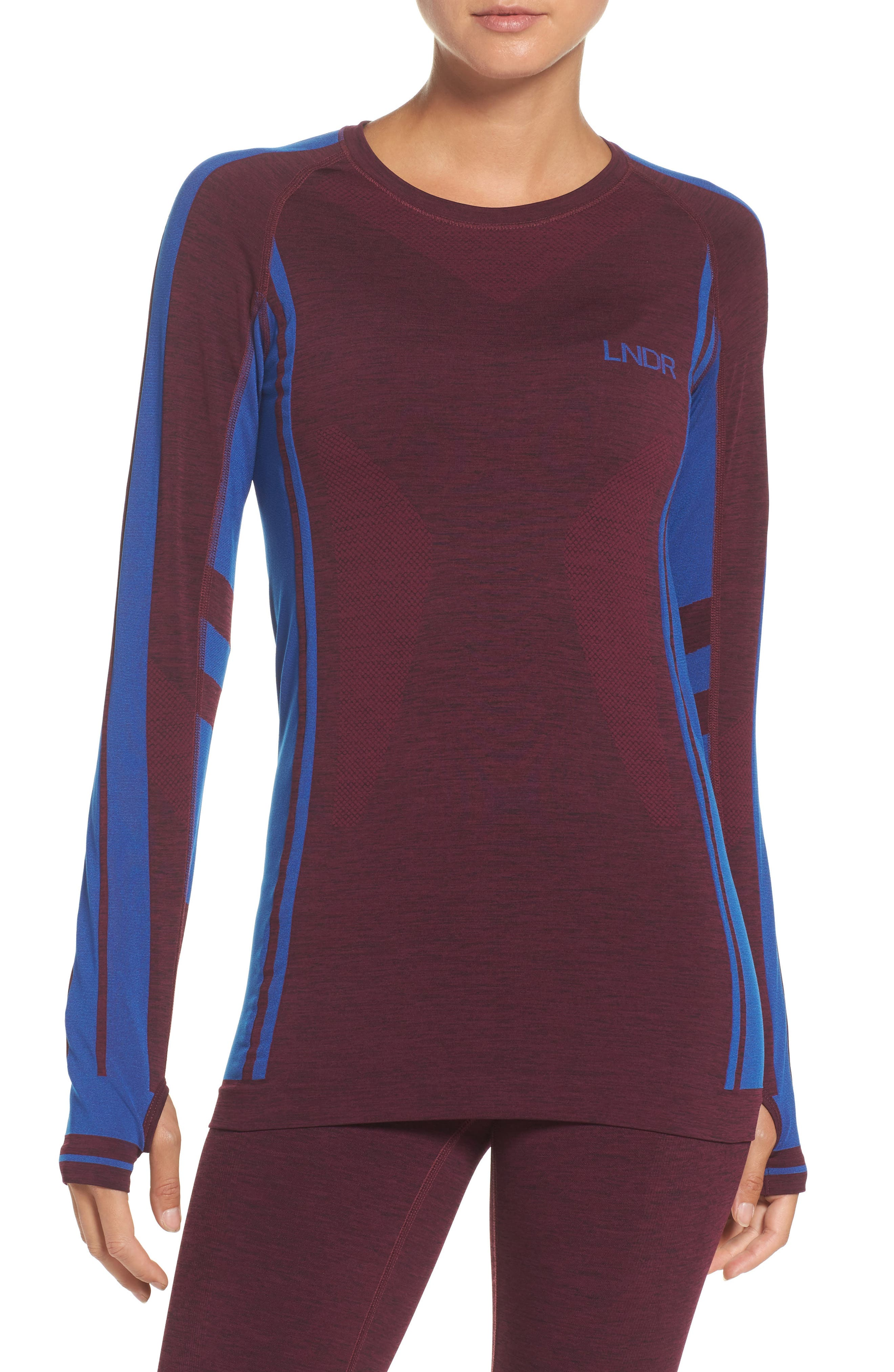 Colours Long Sleeve Top,                             Main thumbnail 1, color,                             930