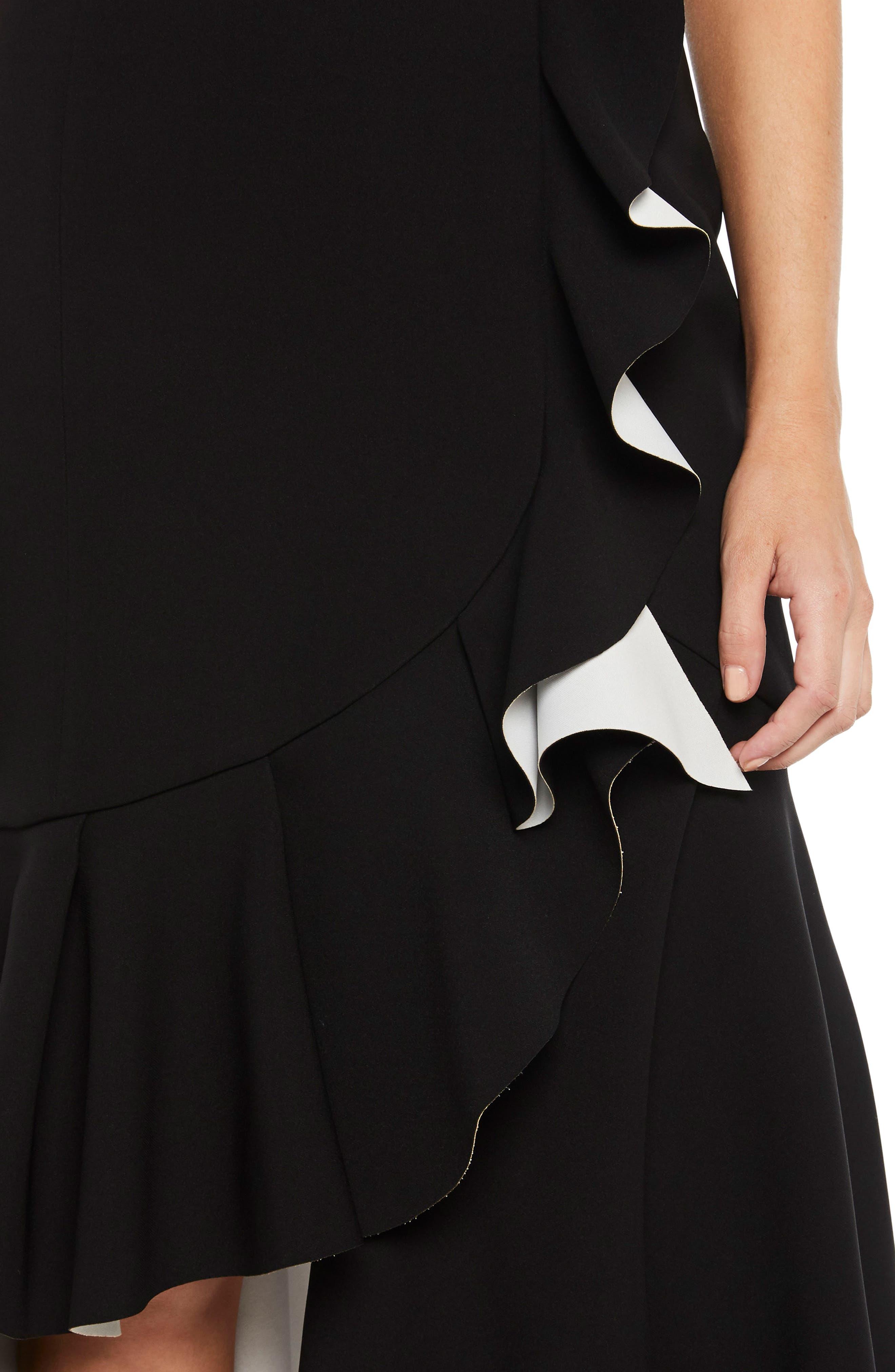 Kiki Scuba Dress,                             Alternate thumbnail 3, color,                             001