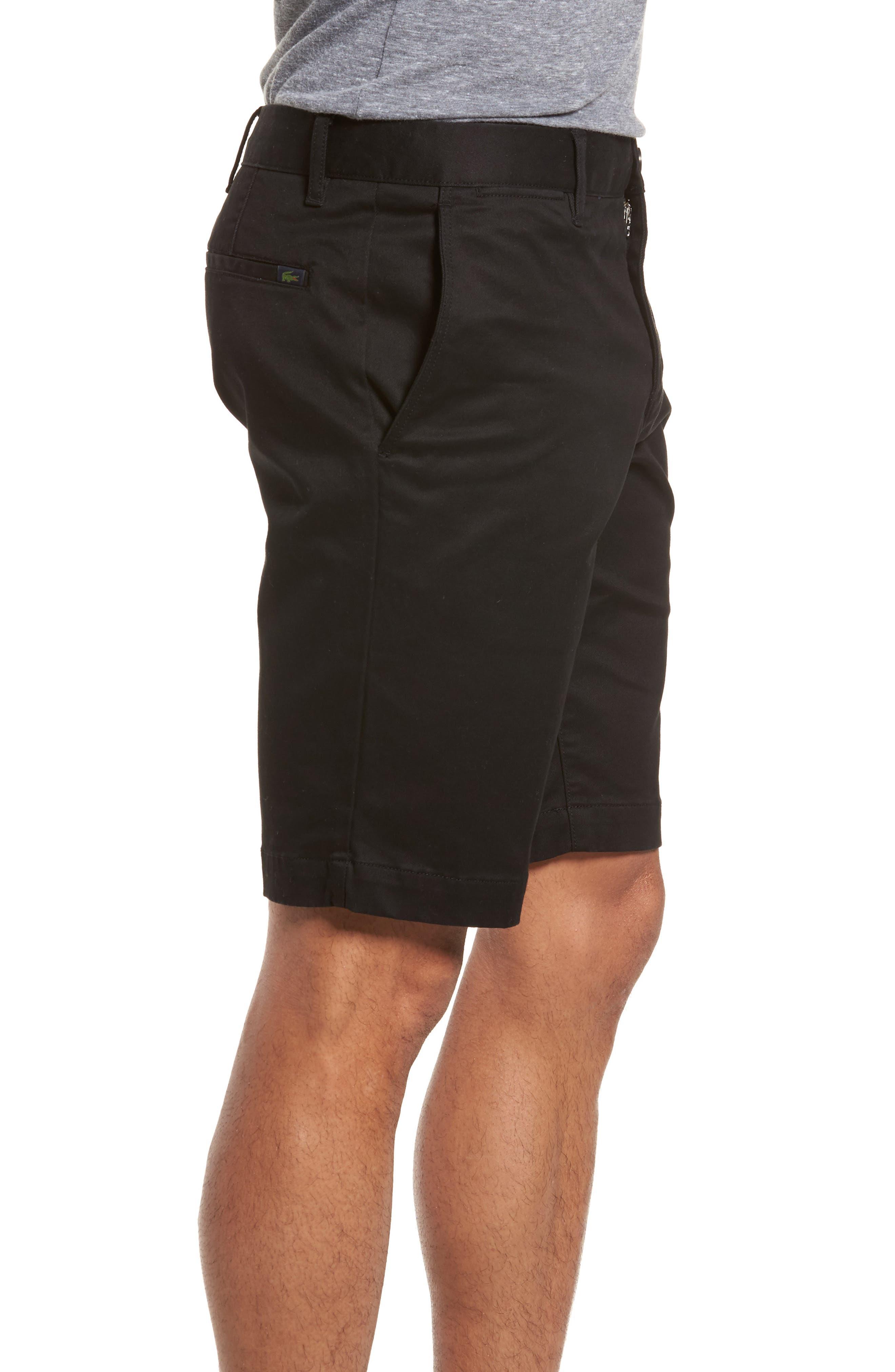 Slim Fit Chino Shorts,                             Alternate thumbnail 3, color,                             001