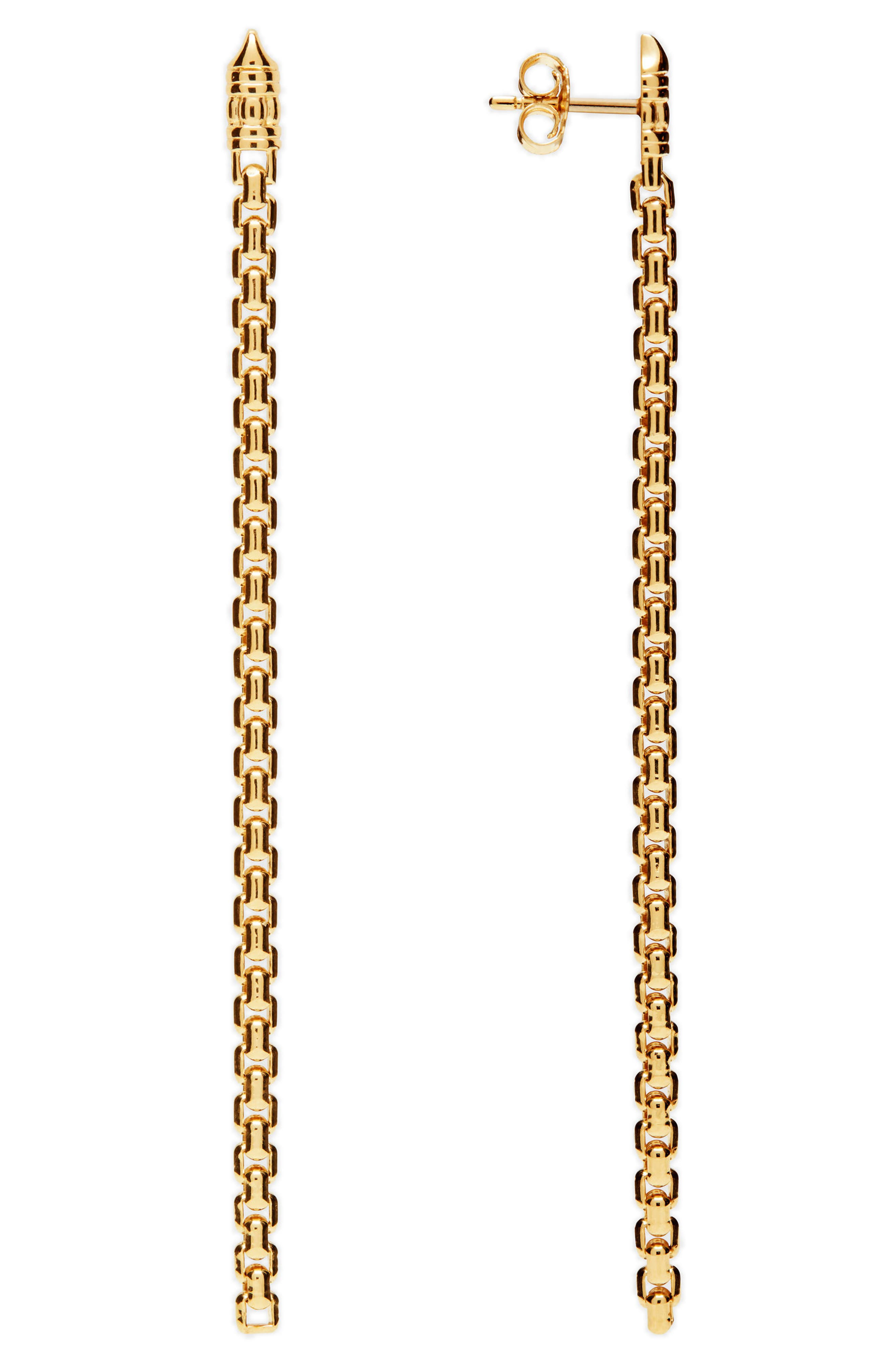 Venetian Chain Link Drop Earrings, Main, color, 040
