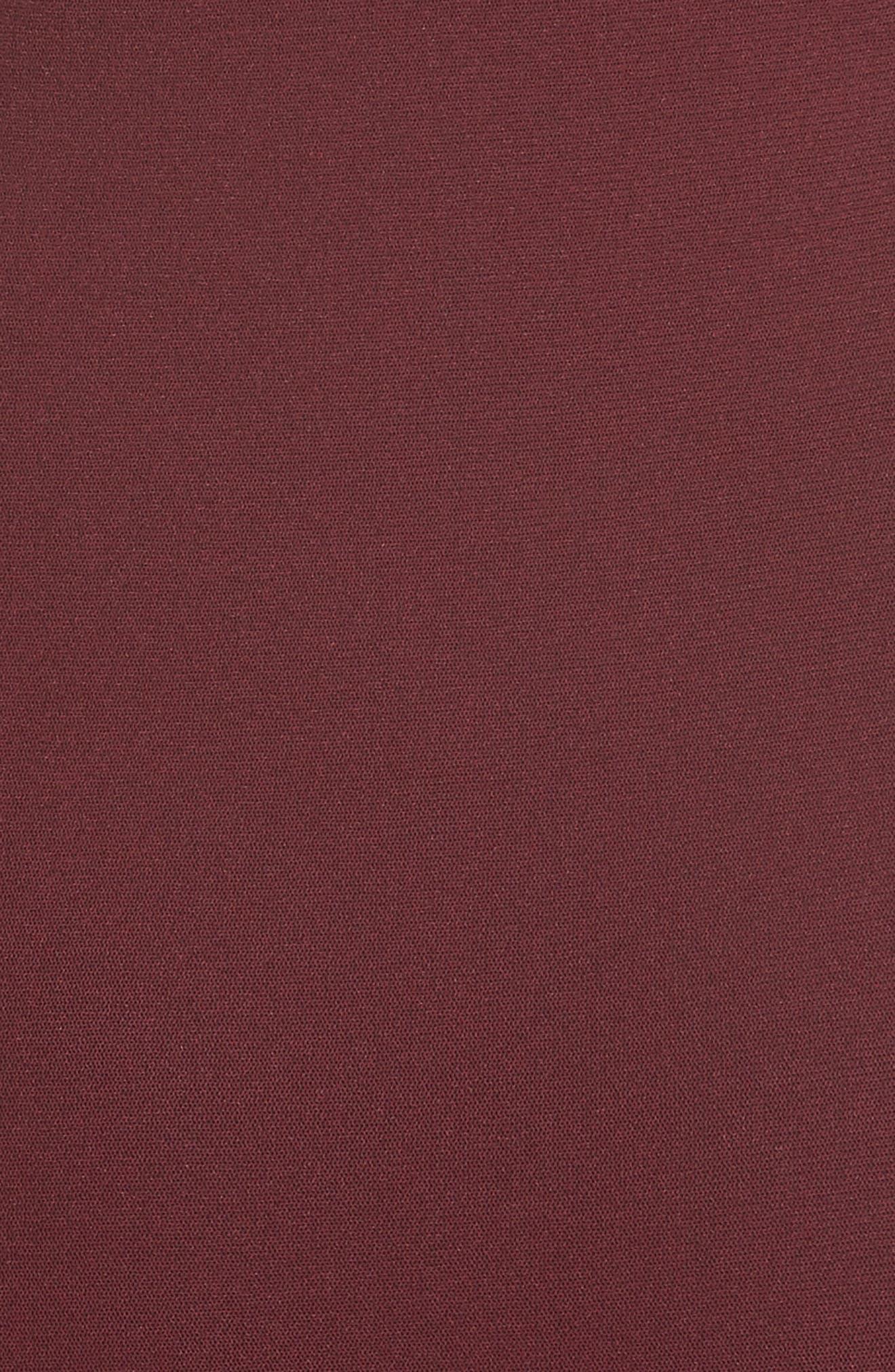Tulle Off the Shoulder Midi Dress,                             Alternate thumbnail 5, color,