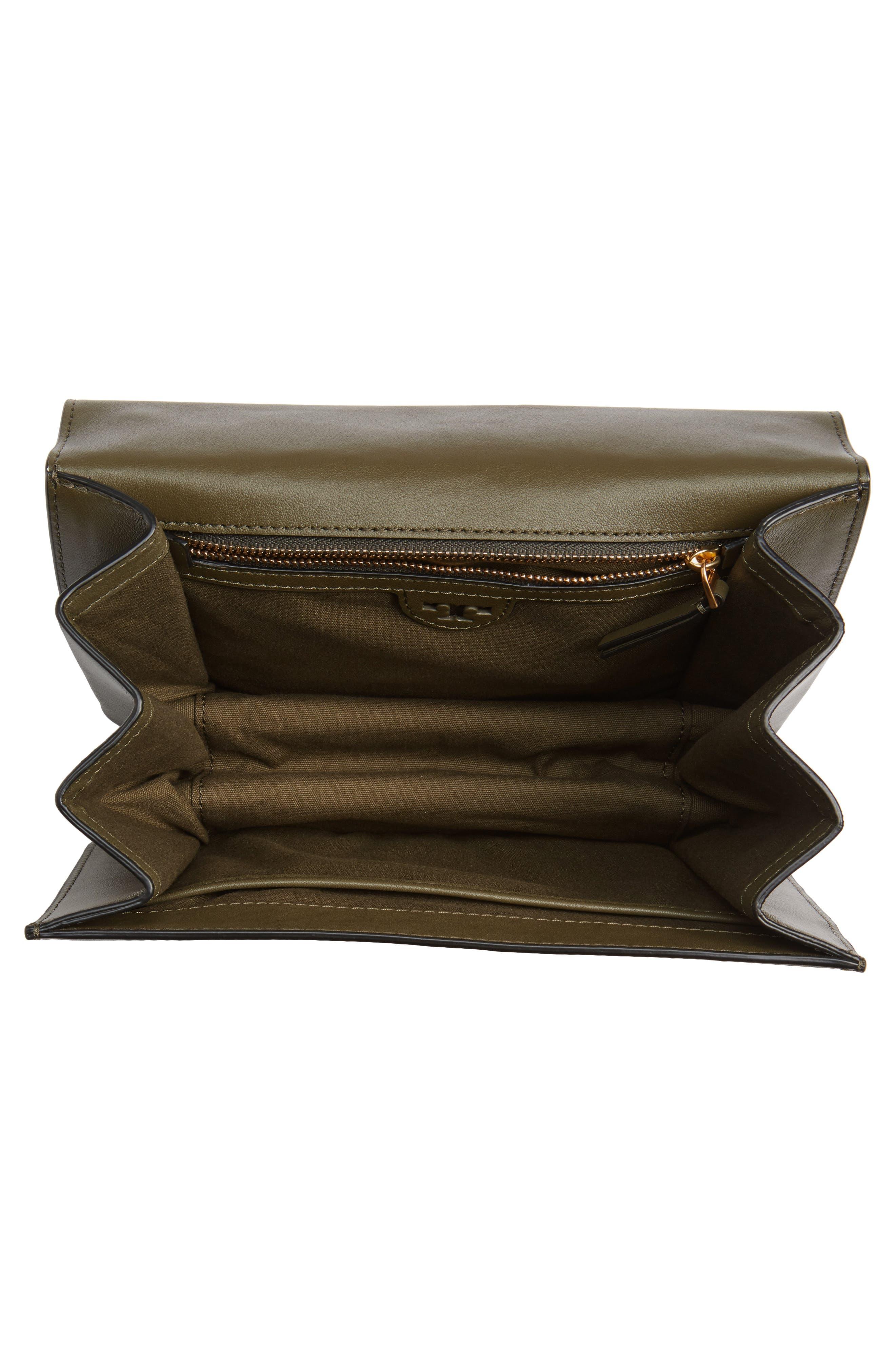 Brooke Leather Crossbody Bag,                             Alternate thumbnail 12, color,