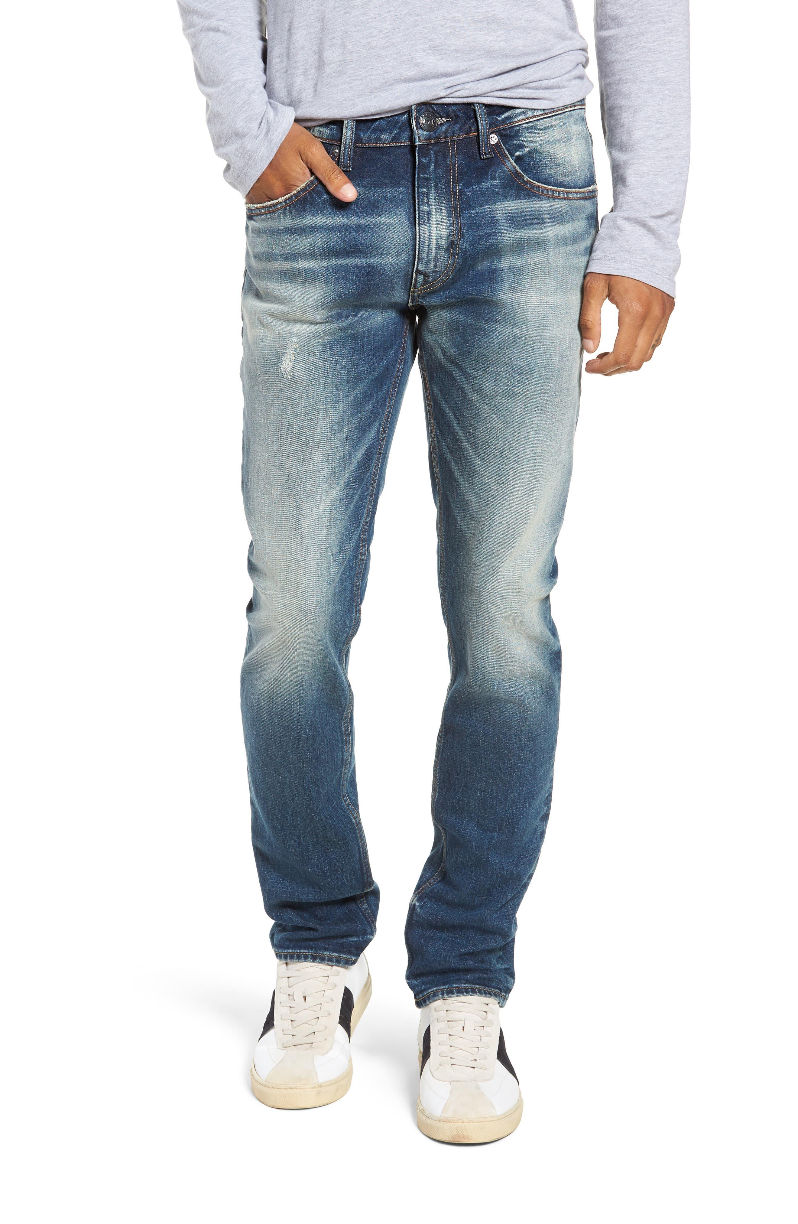 Mick Slim Fit Jeans,                             Main thumbnail 1, color,                             VINTAGE WASH