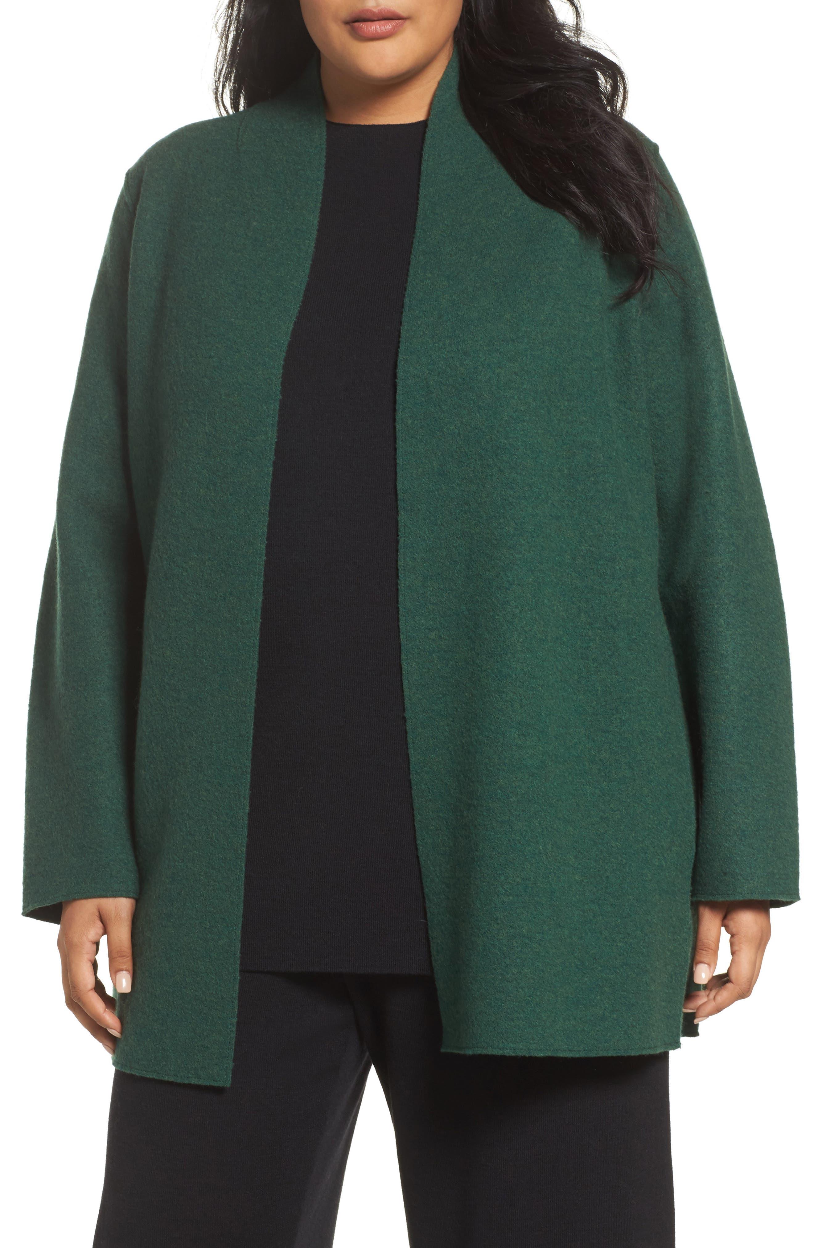 Boiled Wool Jacket,                             Main thumbnail 2, color,